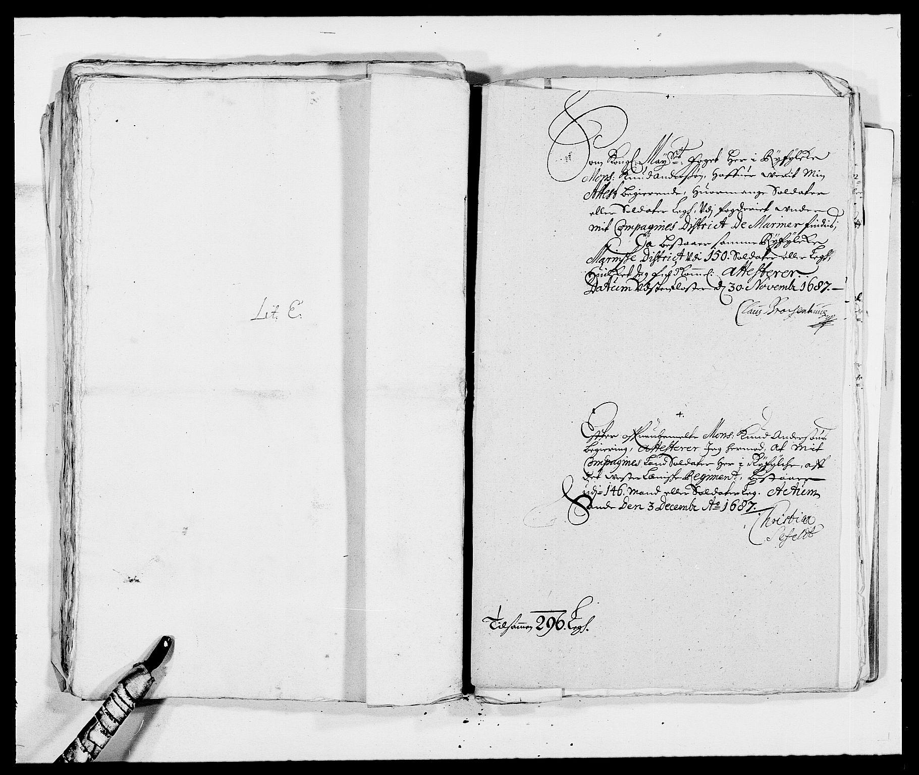 RA, Rentekammeret inntil 1814, Reviderte regnskaper, Fogderegnskap, R47/L2855: Fogderegnskap Ryfylke, 1685-1688, s. 289