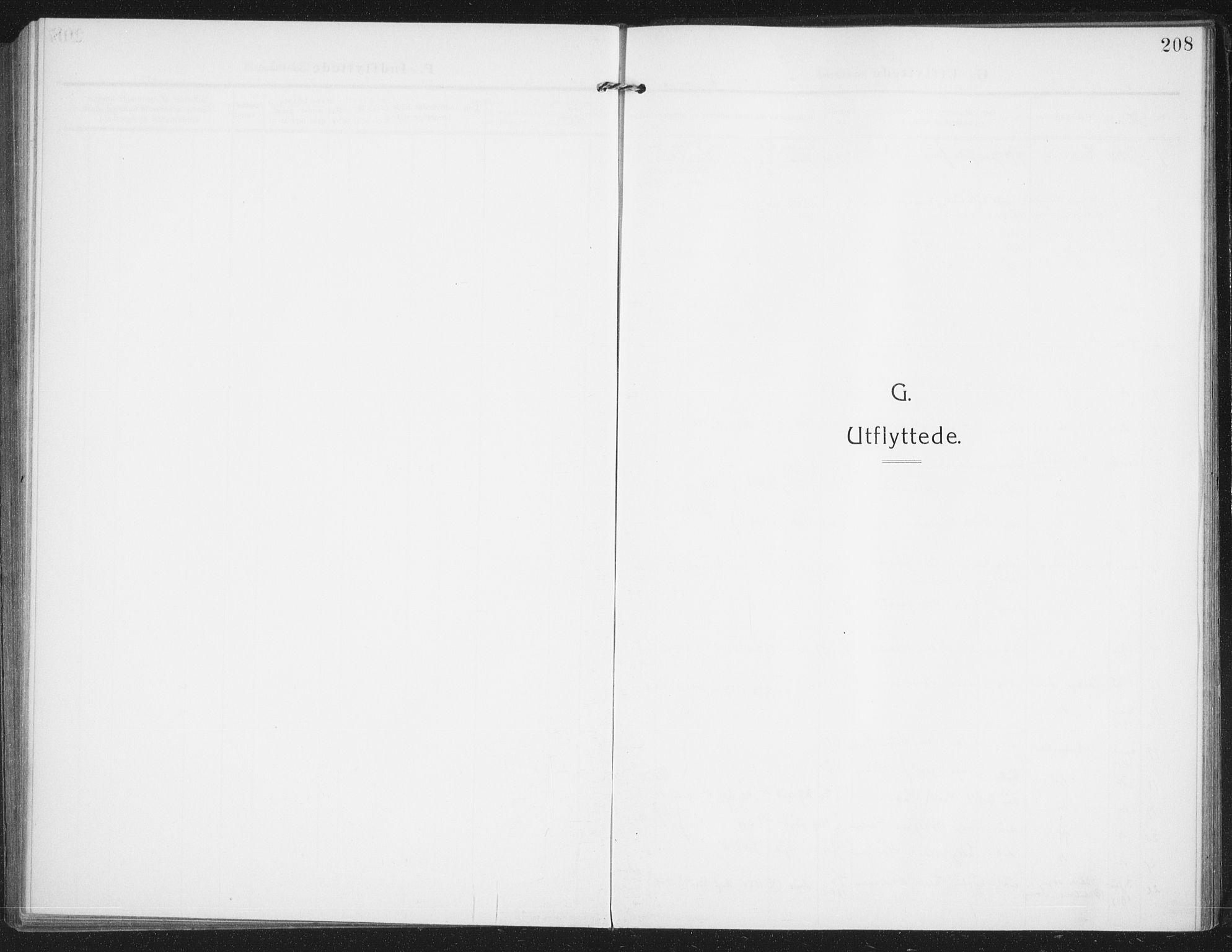 SAO, Rolvsøy prestekontor Kirkebøker, F/Fa/L0002: Ministerialbok nr. 2, 1909-1917, s. 208