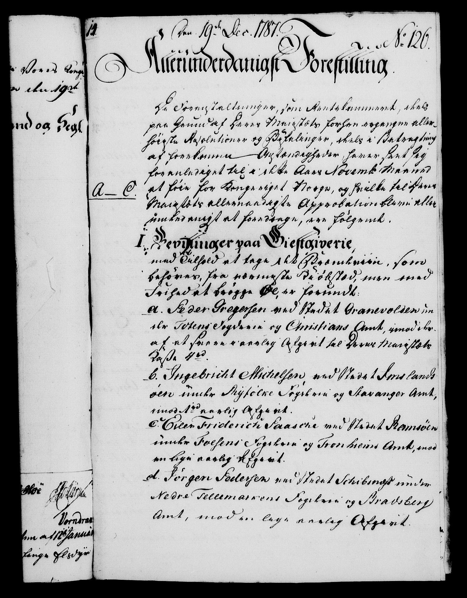 RA, Rentekammeret, Kammerkanselliet, G/Gf/Gfa/L0069: Norsk relasjons- og resolusjonsprotokoll (merket RK 52.69), 1787, s. 1204