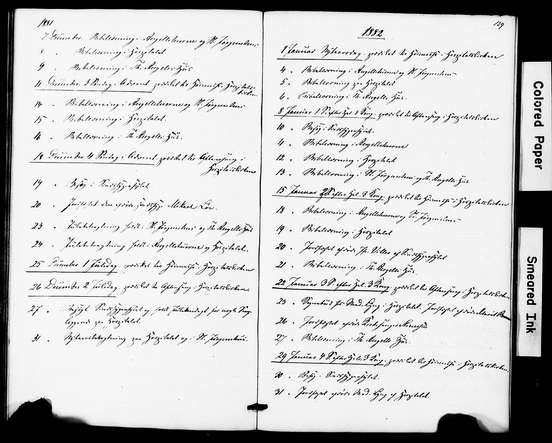 SAT, Ministerialprotokoller, klokkerbøker og fødselsregistre - Sør-Trøndelag, 623/L0469: Ministerialbok nr. 623A03, 1868-1883, s. 129