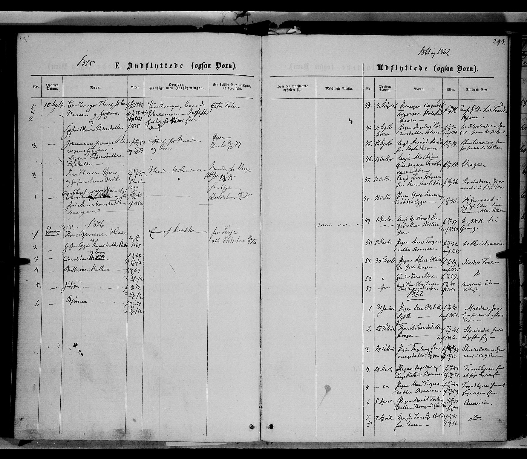 SAH, Ringebu prestekontor, Ministerialbok nr. 7, 1860-1877, s. 293