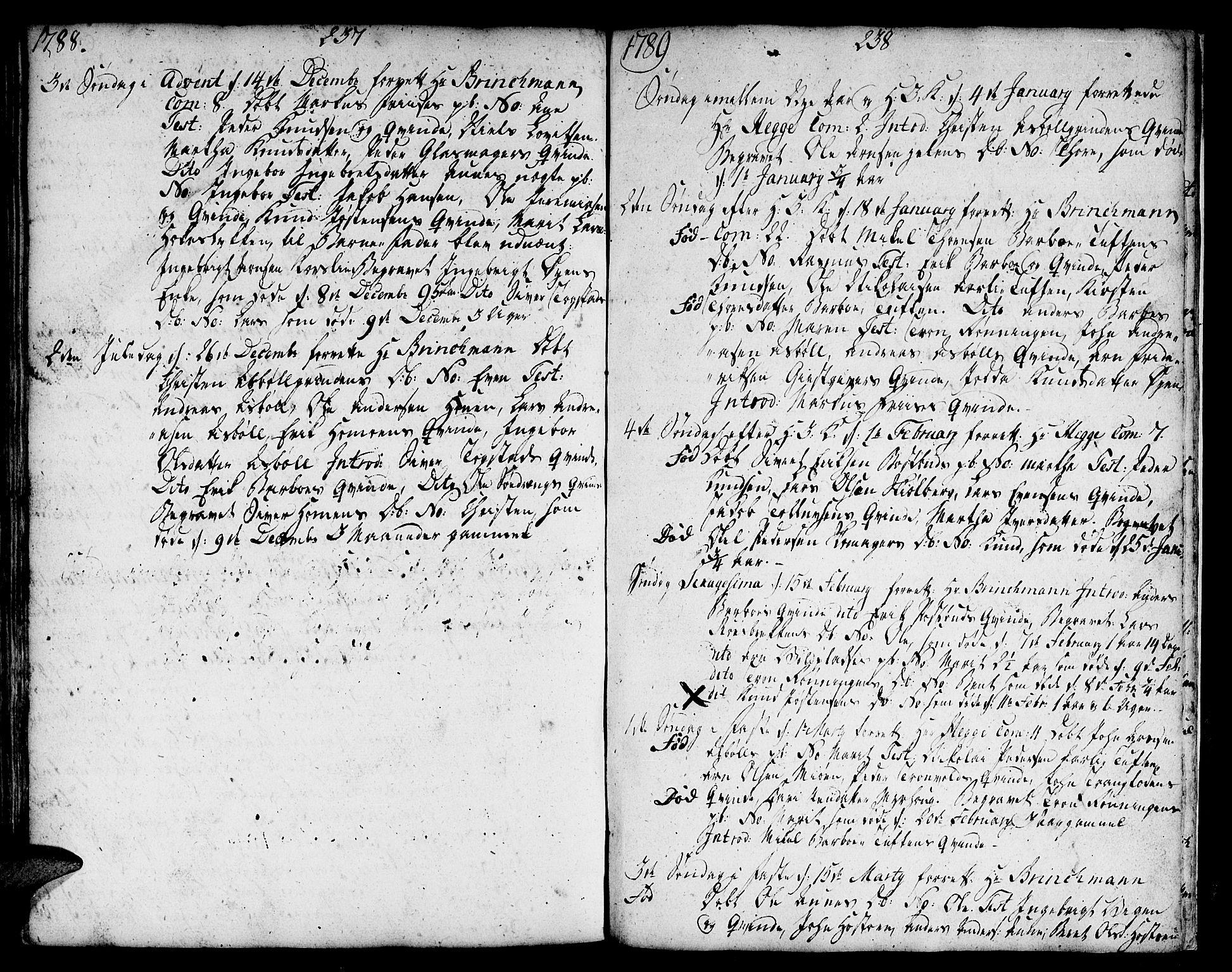 SAT, Ministerialprotokoller, klokkerbøker og fødselsregistre - Sør-Trøndelag, 671/L0840: Ministerialbok nr. 671A02, 1756-1794, s. 337-338