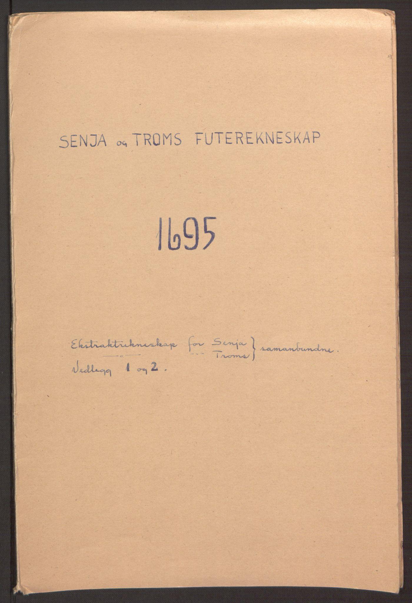 RA, Rentekammeret inntil 1814, Reviderte regnskaper, Fogderegnskap, R68/L4753: Fogderegnskap Senja og Troms, 1694-1696, s. 211