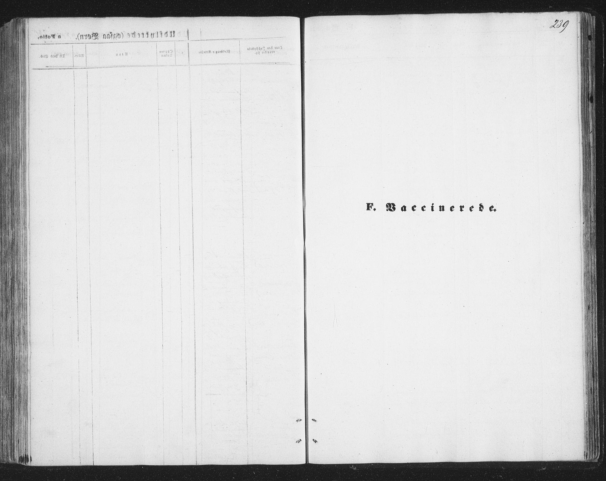 SATØ, Tromsø sokneprestkontor/stiftsprosti/domprosti, G/Ga/L0012kirke: Ministerialbok nr. 12, 1865-1871, s. 239