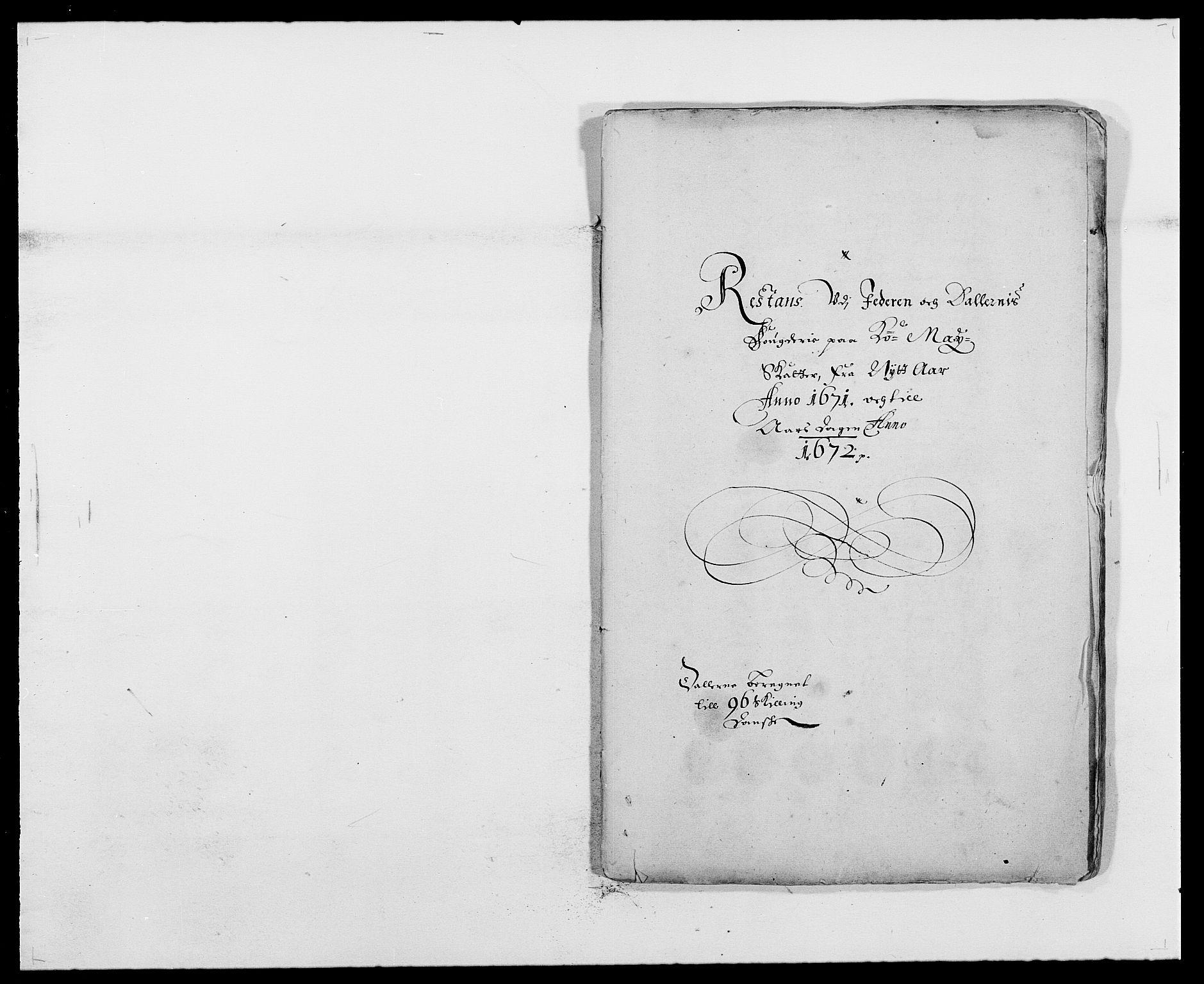 RA, Rentekammeret inntil 1814, Reviderte regnskaper, Fogderegnskap, R46/L2713: Fogderegnskap Jæren og Dalane, 1671-1672, s. 166
