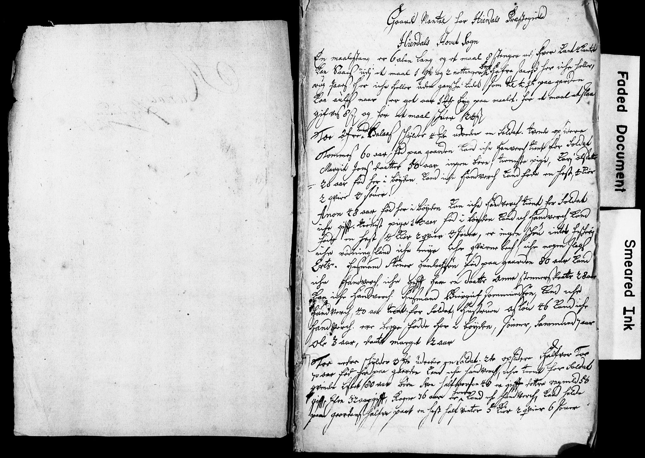 SAKO, Bratsberg Len og Amt, I/I34/L0342: Diverse manntall og fortegnelser, 1730, s. upaginert