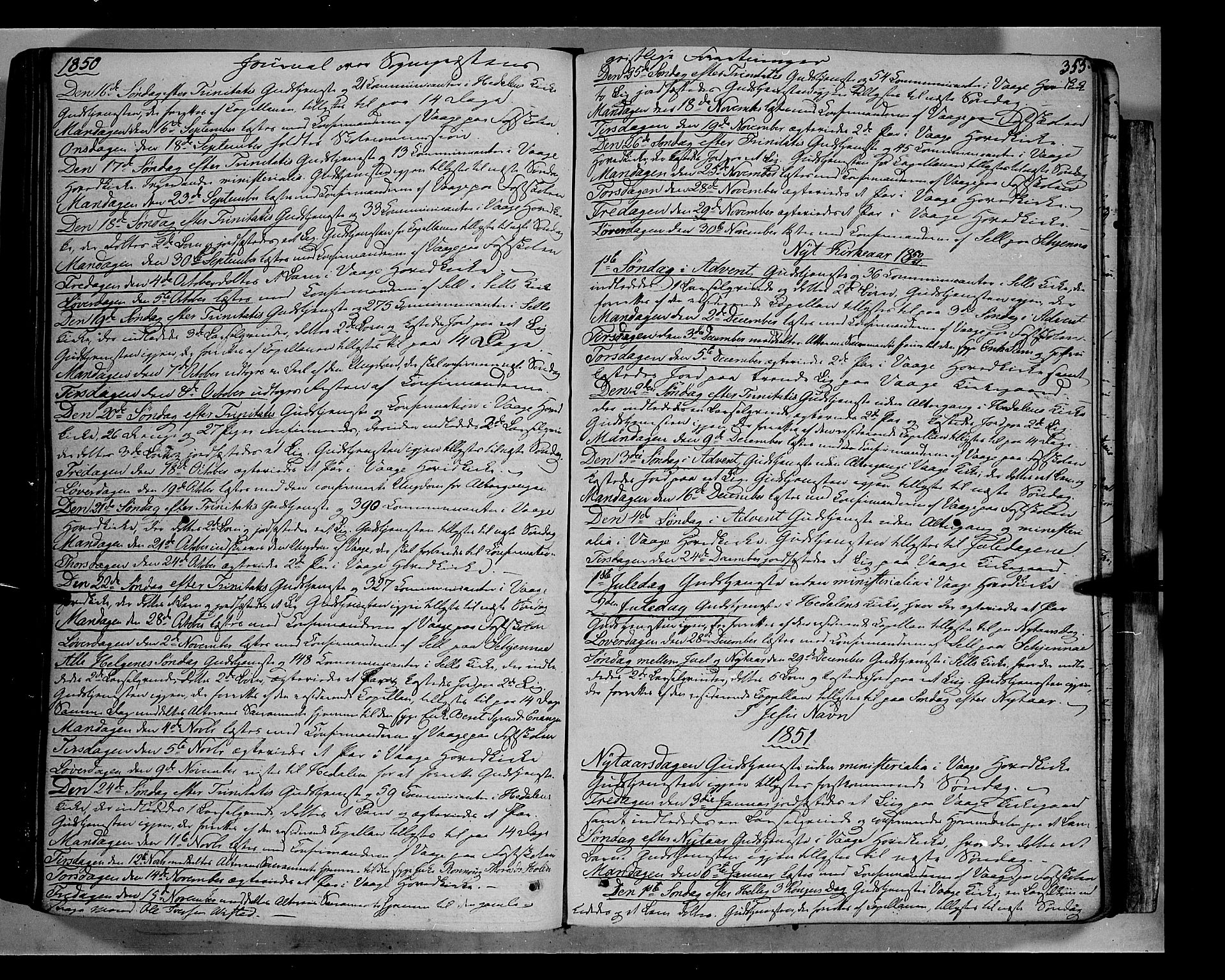 SAH, Vågå prestekontor, Ministerialbok nr. 5 /1, 1842-1856, s. 355