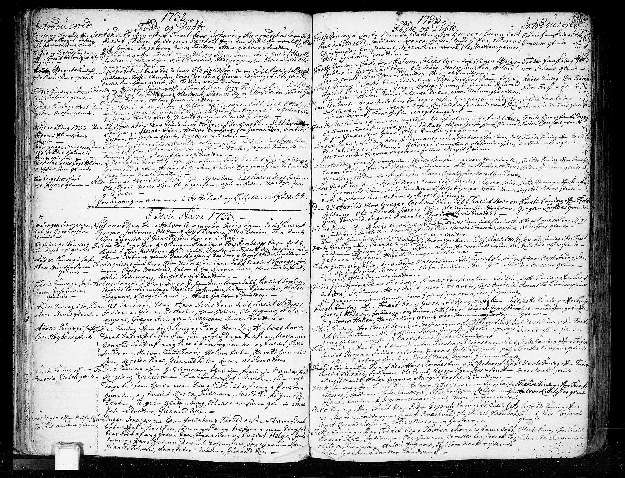 SAKO, Heddal kirkebøker, F/Fa/L0003: Ministerialbok nr. I 3, 1723-1783, s. 64