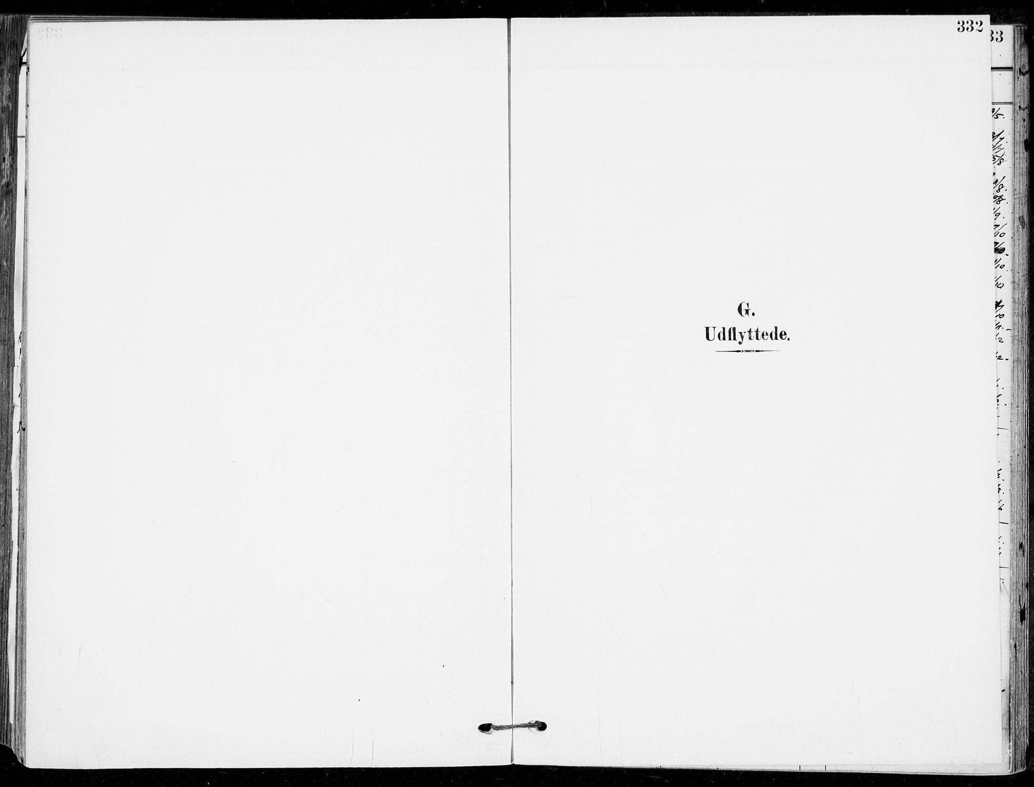 SAKO, Sande Kirkebøker, F/Fa/L0008: Ministerialbok nr. 8, 1904-1921, s. 332