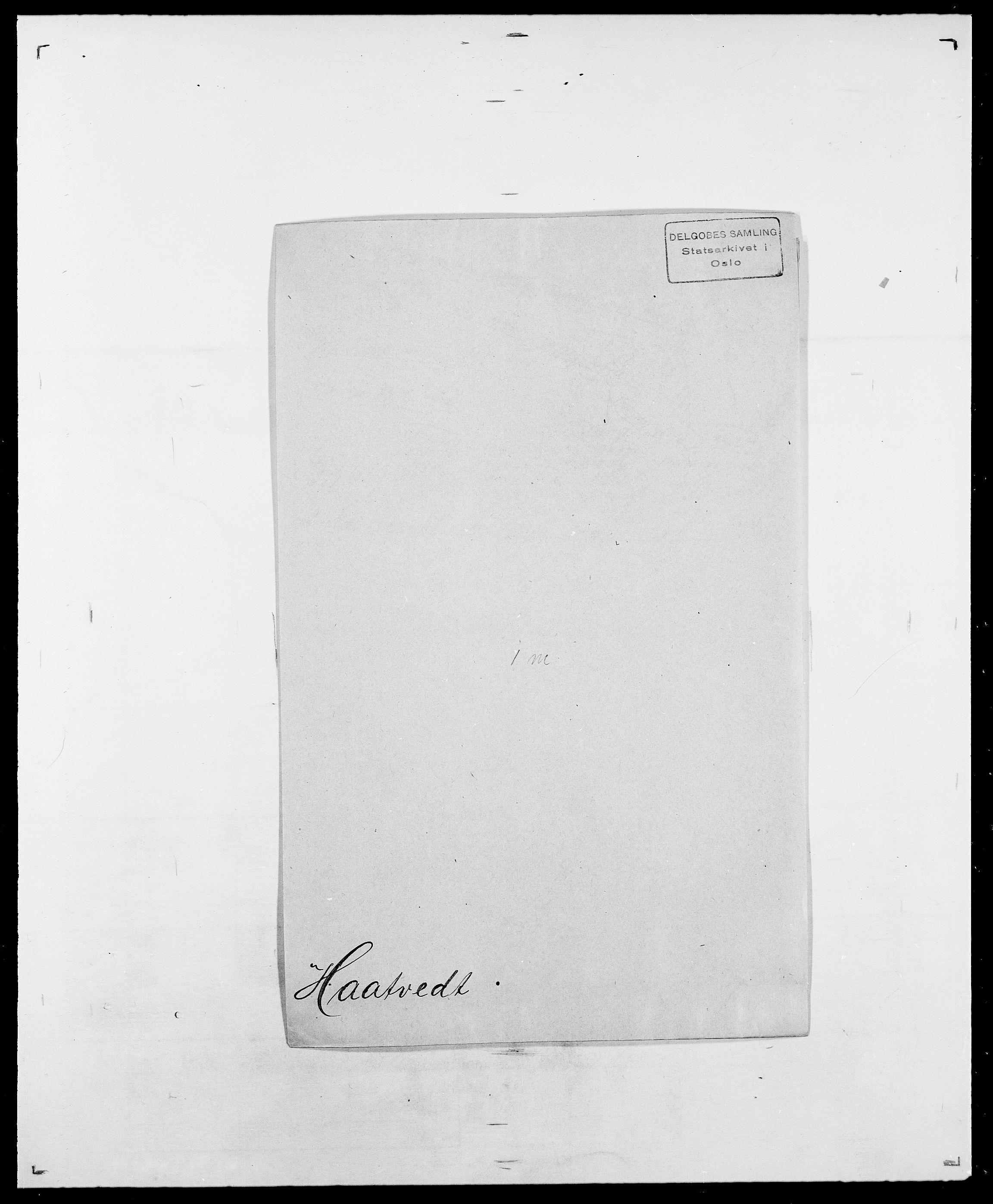 SAO, Delgobe, Charles Antoine - samling, D/Da/L0015: Grodtshilling - Halvorsæth, s. 618