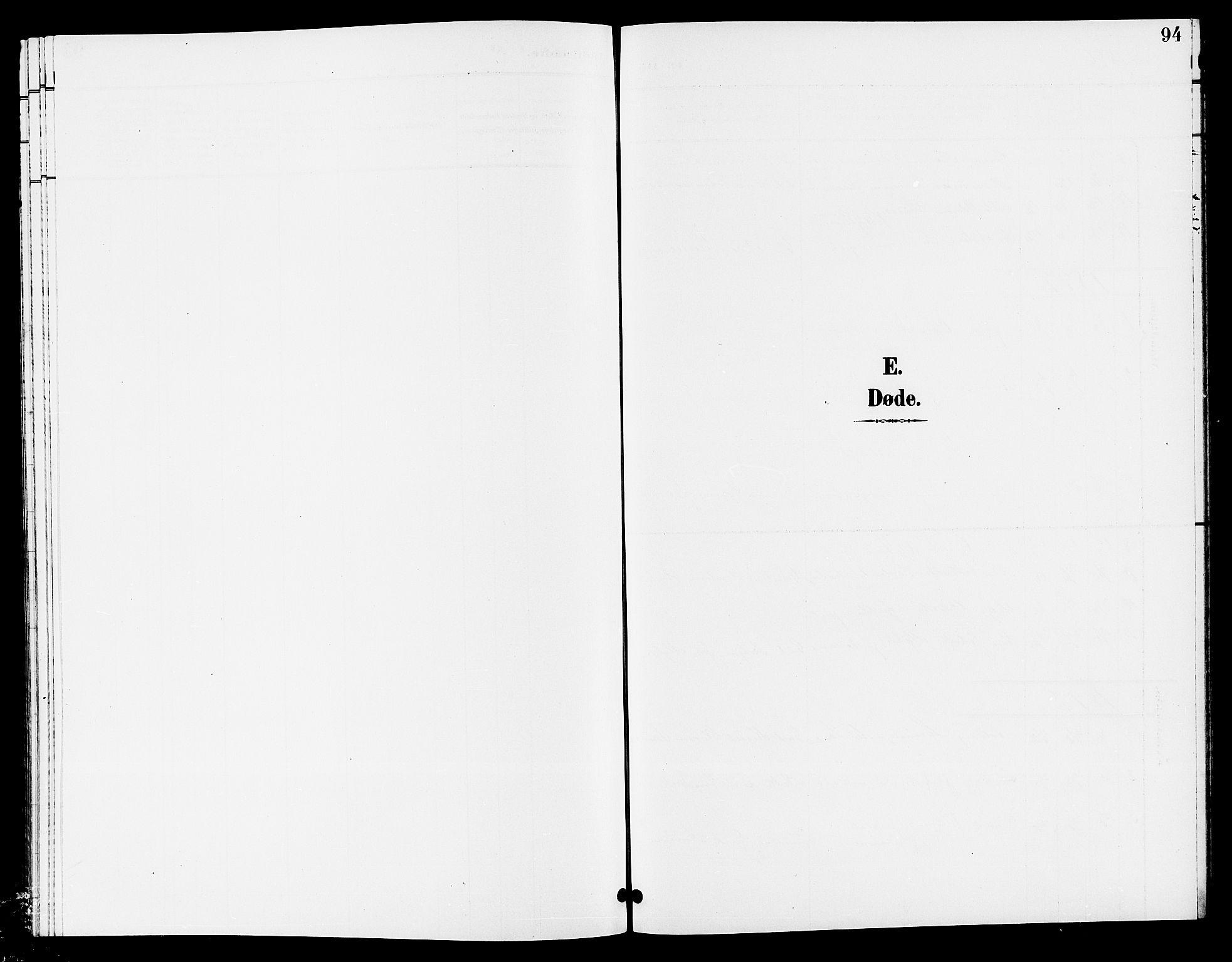 SAKO, Lunde kirkebøker, G/Ga/L0003: Klokkerbok nr. I 3, 1896-1905, s. 94