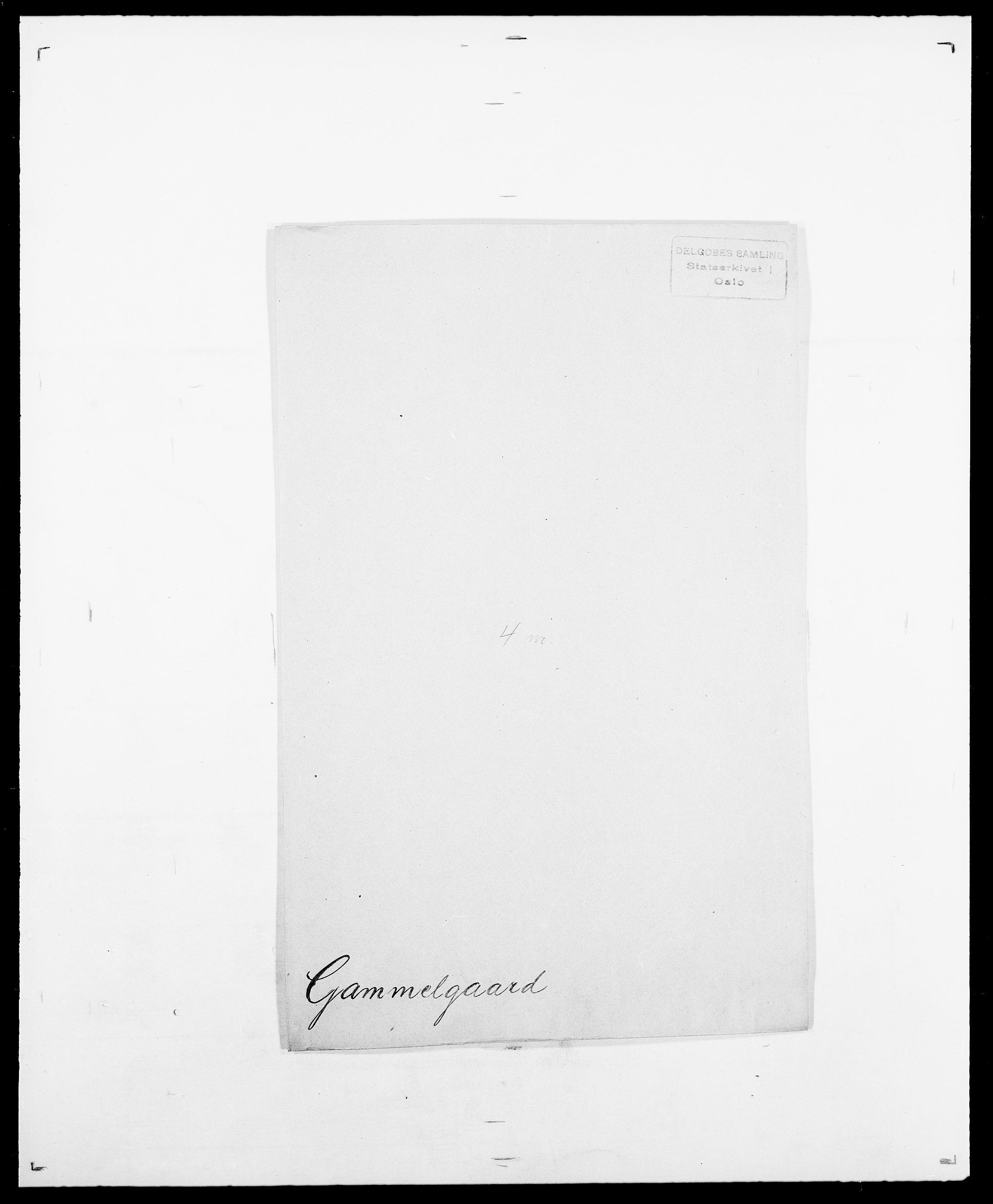 SAO, Delgobe, Charles Antoine - samling, D/Da/L0013: Forbos - Geving, s. 467