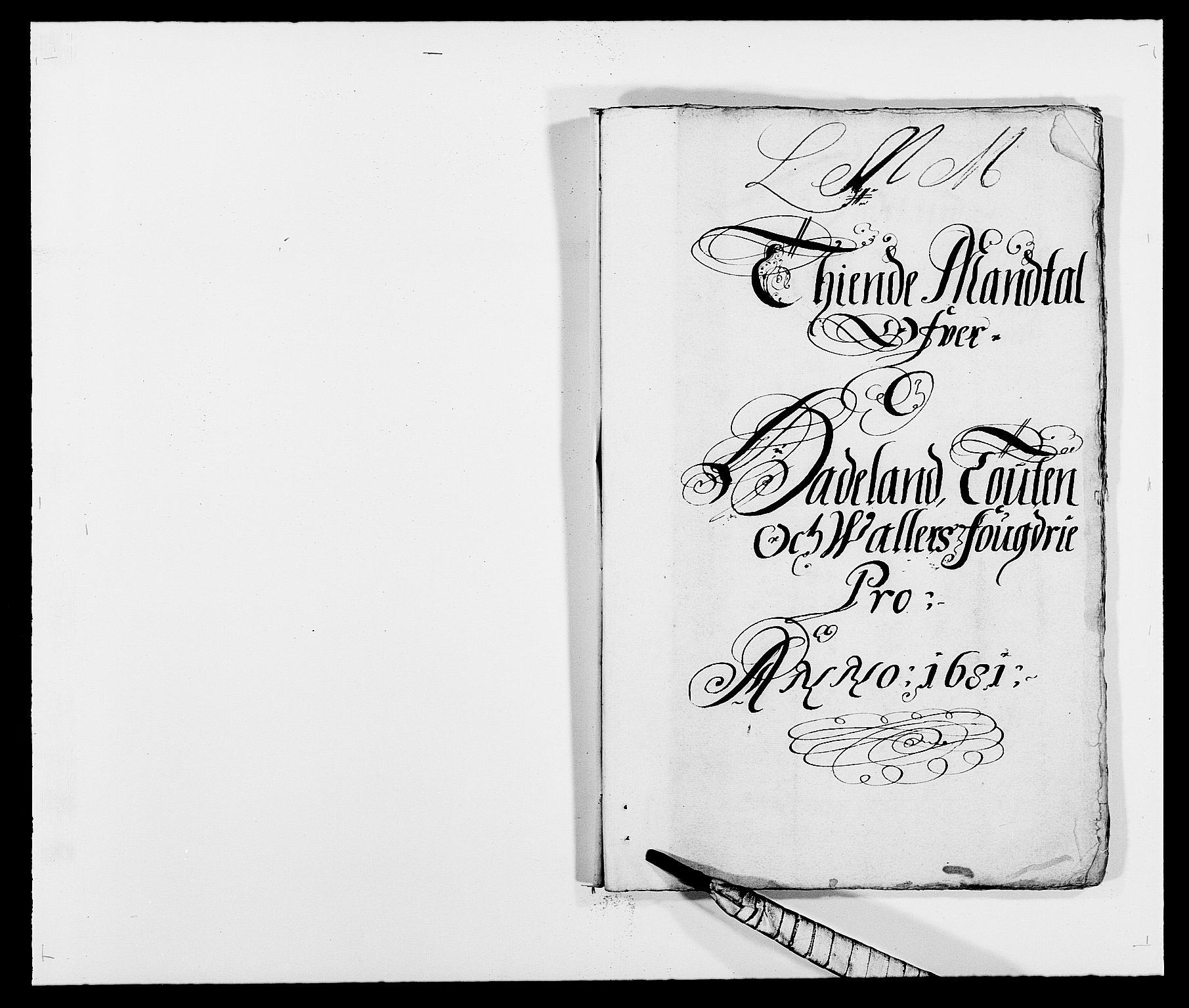 RA, Rentekammeret inntil 1814, Reviderte regnskaper, Fogderegnskap, R18/L1278: Fogderegnskap Hadeland, Toten og Valdres, 1681, s. 89