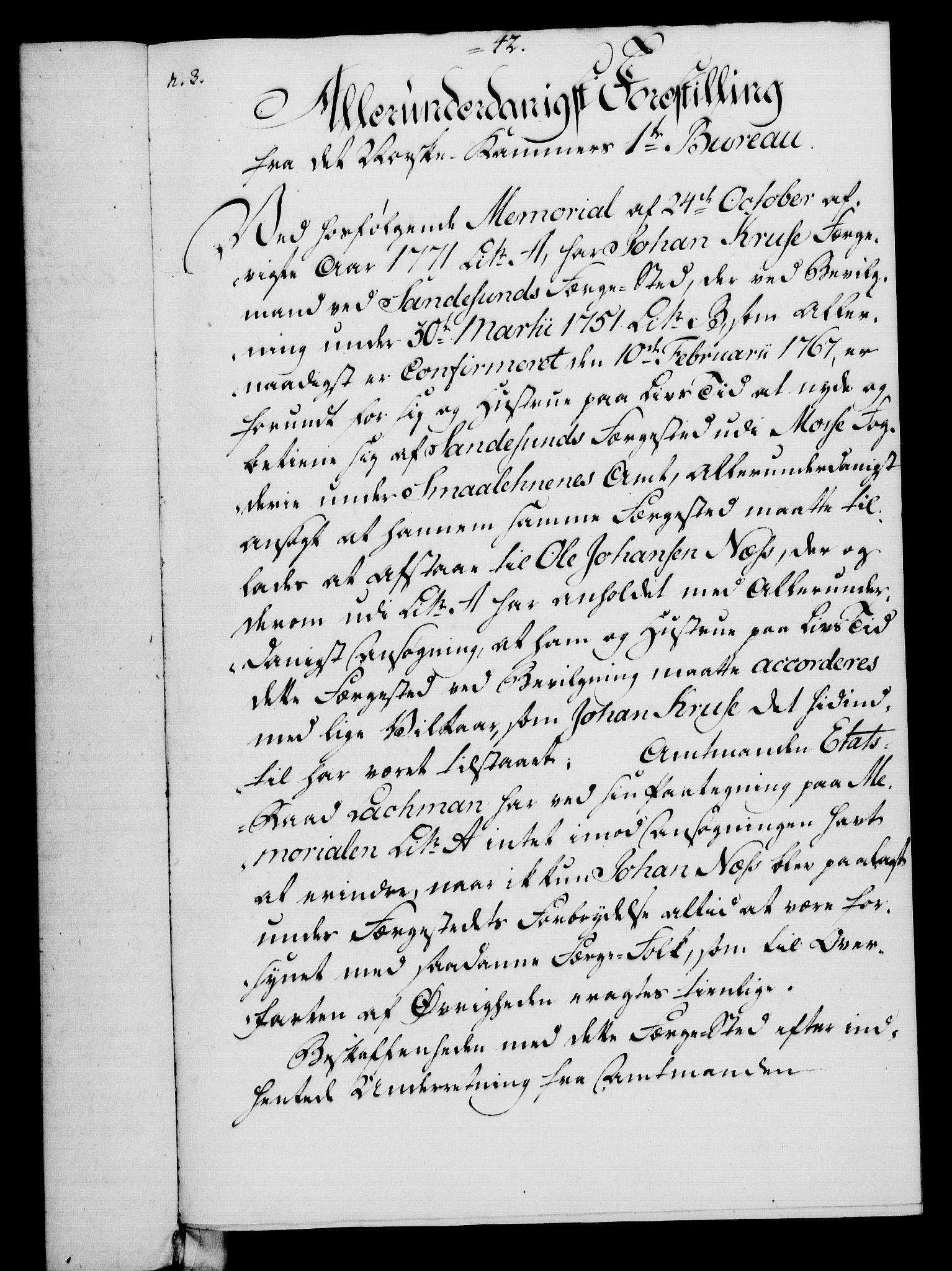 RA, Rentekammeret, Kammerkanselliet, G/Gf/Gfa/L0054: Norsk relasjons- og resolusjonsprotokoll (merket RK 52.54), 1771-1772, s. 392