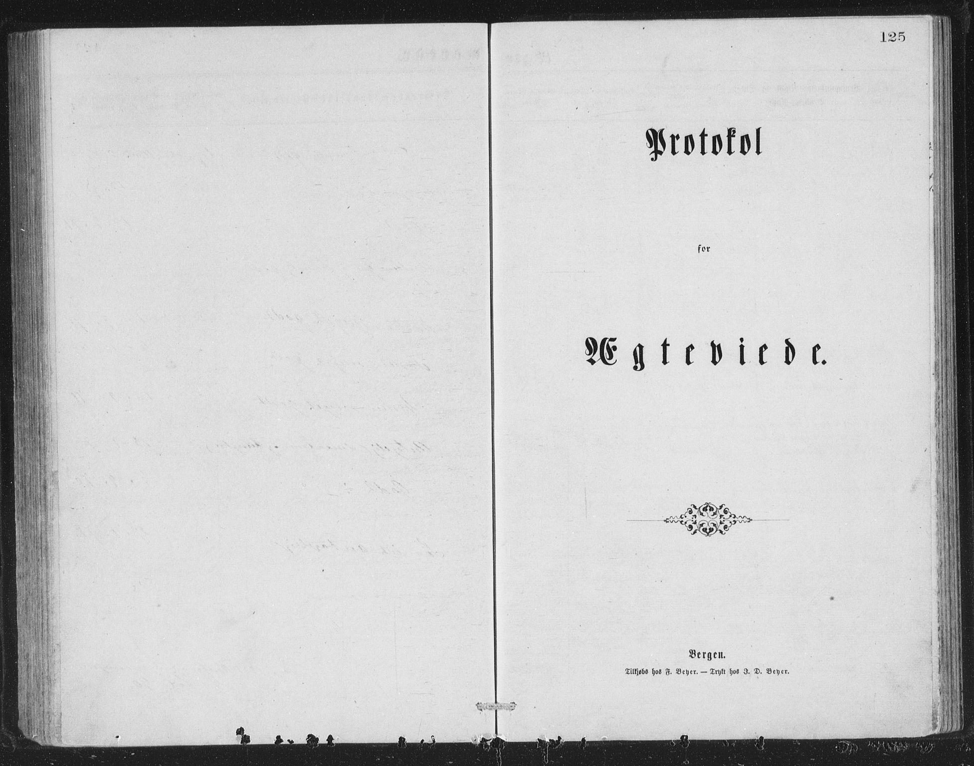 SAB, Åsane sokneprestembete, H/Hab: Klokkerbok nr. A 1, 1870-1884, s. 125