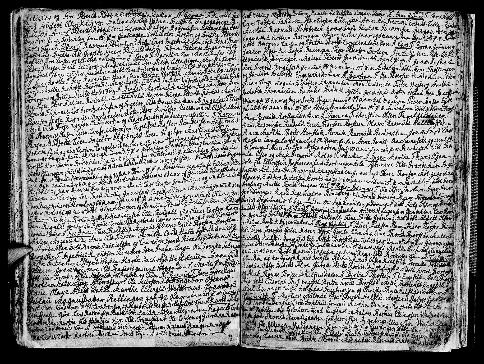 SAT, Ministerialprotokoller, klokkerbøker og fødselsregistre - Møre og Romsdal, 519/L0245: Ministerialbok nr. 519A04, 1774-1816, s. 111