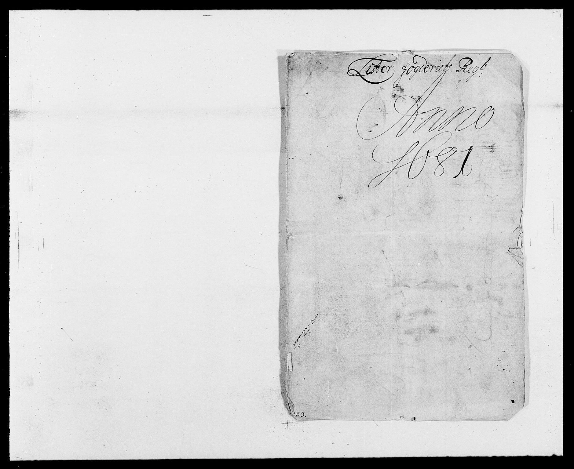 RA, Rentekammeret inntil 1814, Reviderte regnskaper, Fogderegnskap, R41/L2531: Fogderegnskap Lista, 1680-1682, s. 72