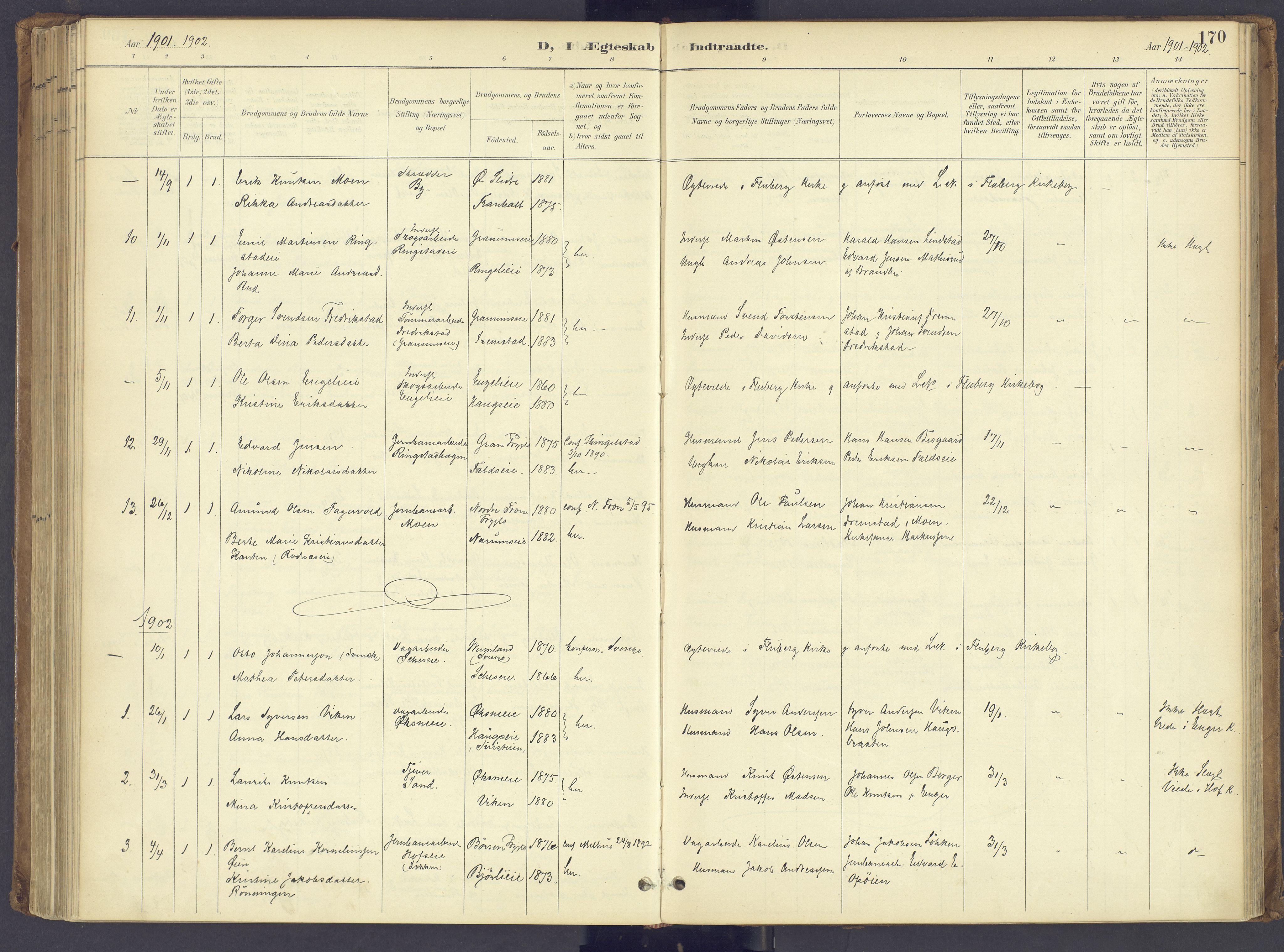 SAH, Søndre Land prestekontor, K/L0006: Ministerialbok nr. 6, 1895-1904, s. 170