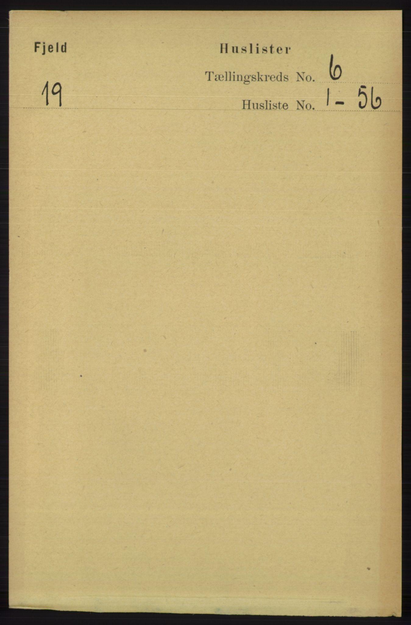 RA, Folketelling 1891 for 1246 Fjell herred, 1891, s. 2940