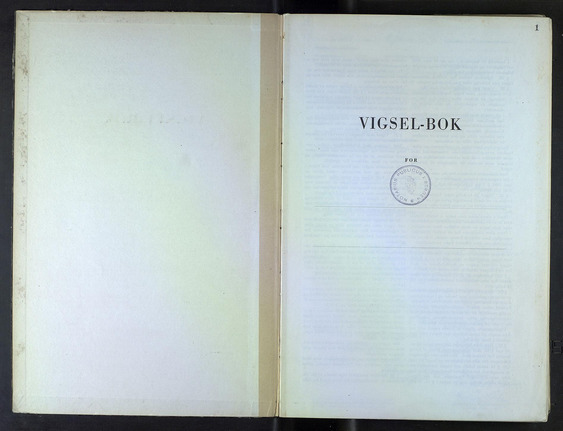SAB, Bergen byfogd og byskriver*, 1947, s. 1