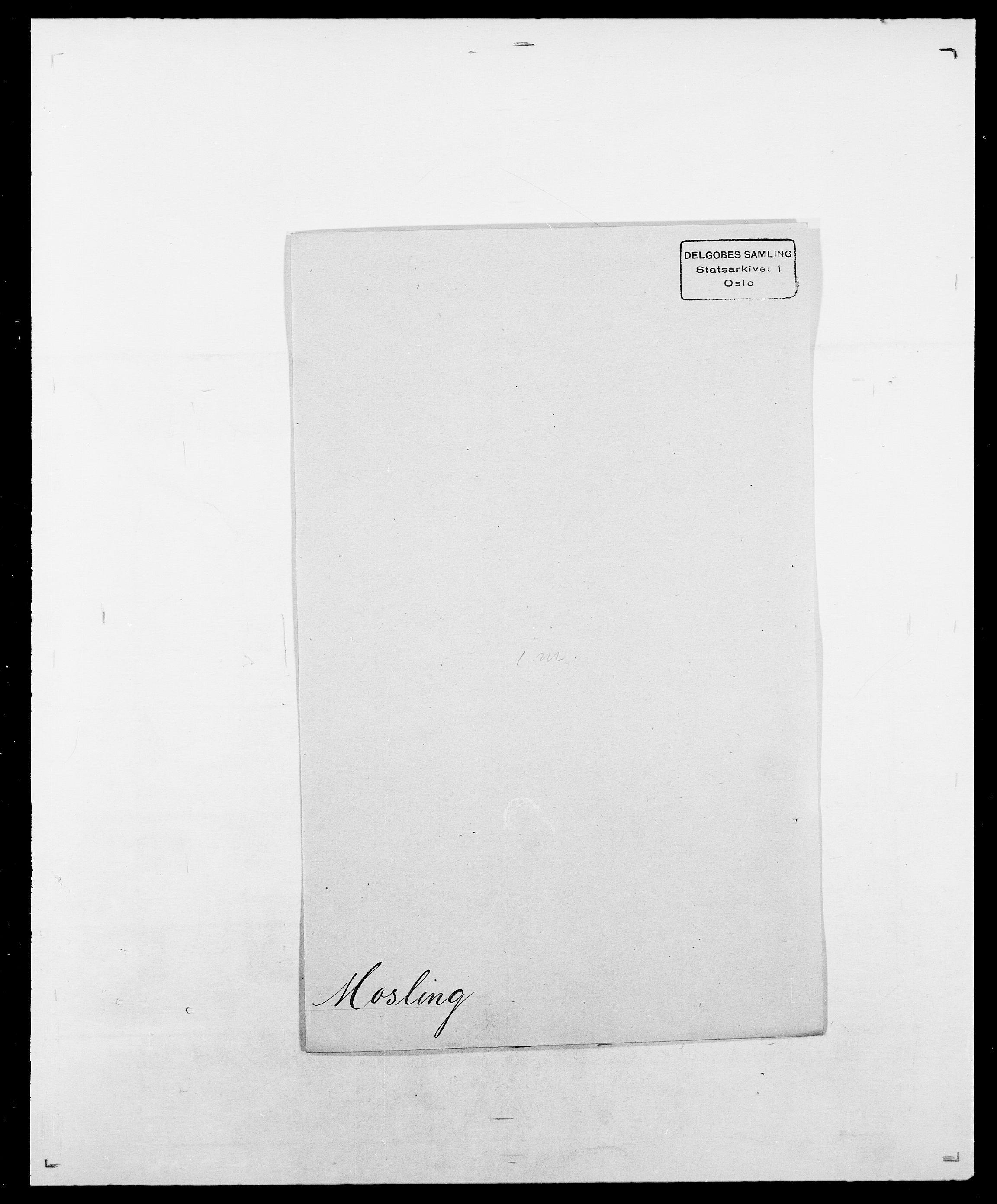 SAO, Delgobe, Charles Antoine - samling, D/Da/L0027: Morath - v. Møsting, s. 51