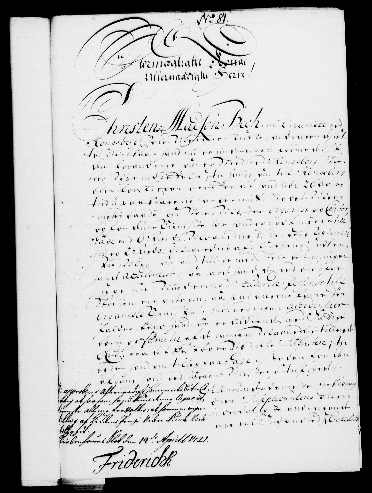 RA, Rentekammeret, Kammerkanselliet, G/Gf/Gfa/L0004: Norsk relasjons- og resolusjonsprotokoll (merket RK 52.4), 1721, s. 655