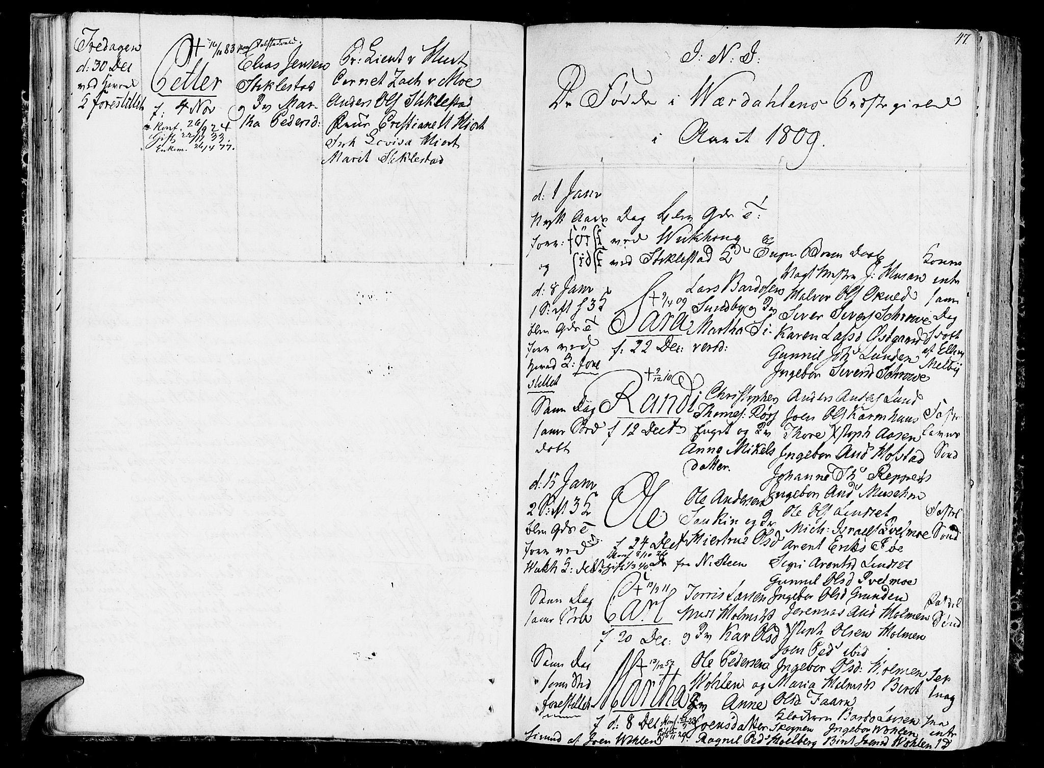 SAT, Ministerialprotokoller, klokkerbøker og fødselsregistre - Nord-Trøndelag, 723/L0233: Ministerialbok nr. 723A04, 1805-1816, s. 47