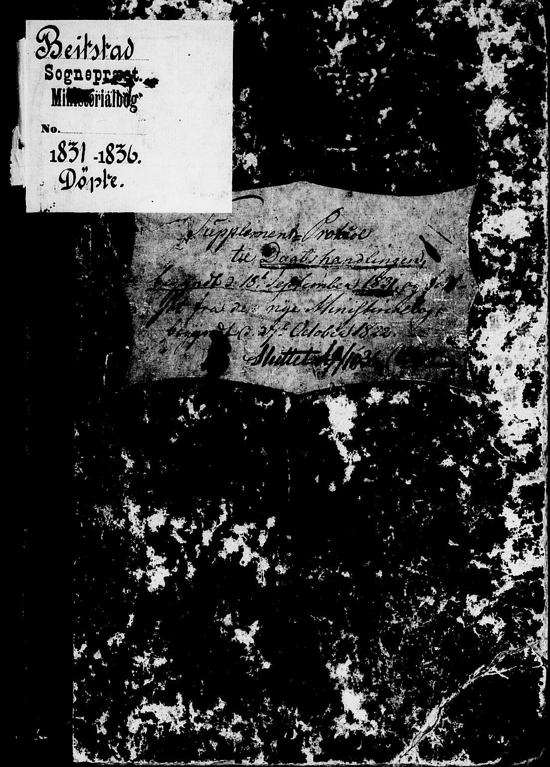 SAT, Ministerialprotokoller, klokkerbøker og fødselsregistre - Nord-Trøndelag, 741/L0391: Ministerialbok nr. 741A05, 1831-1836