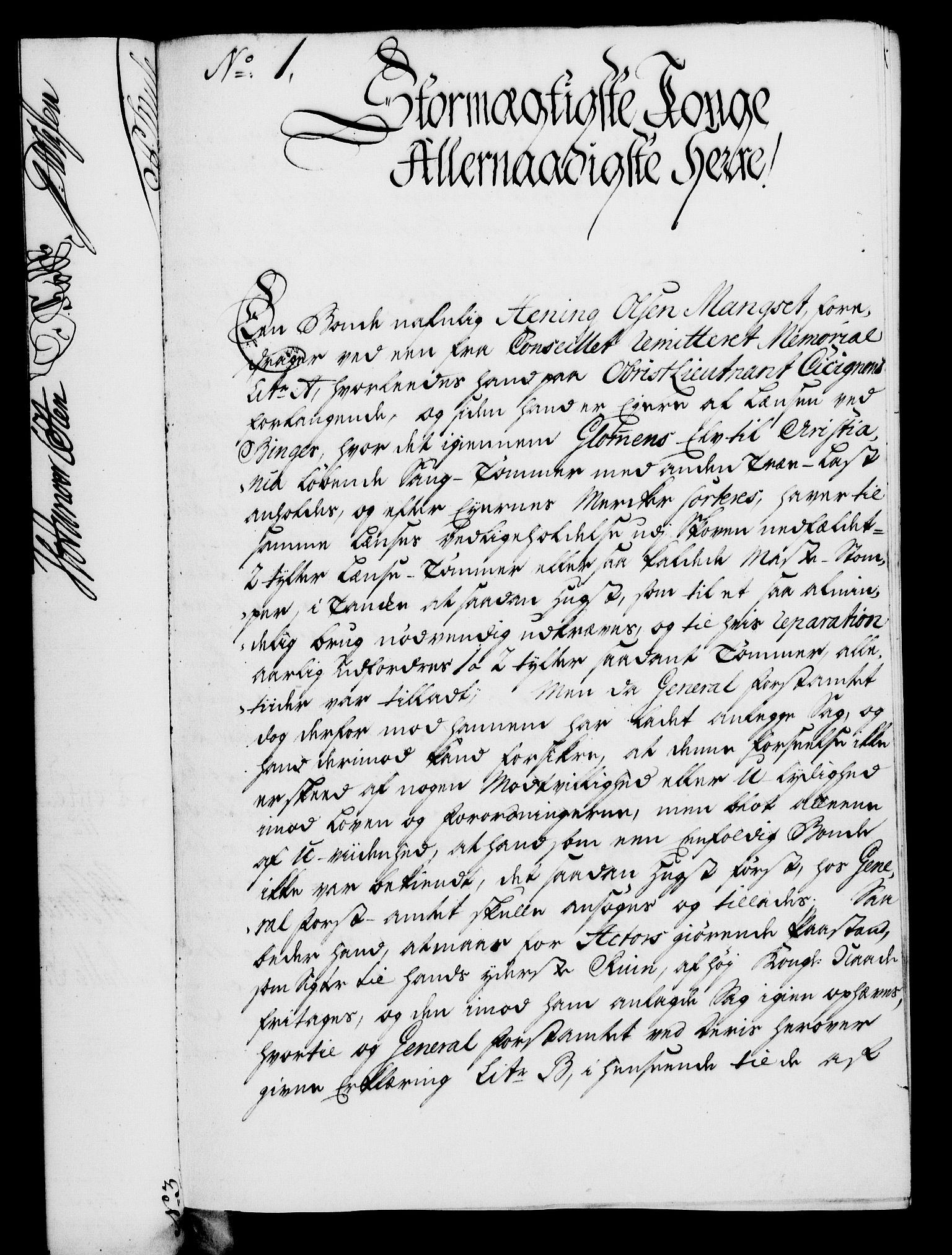 RA, Rentekammeret, Kammerkanselliet, G/Gf/Gfa/L0028: Norsk relasjons- og resolusjonsprotokoll (merket RK 52.28), 1745-1746, s. 586