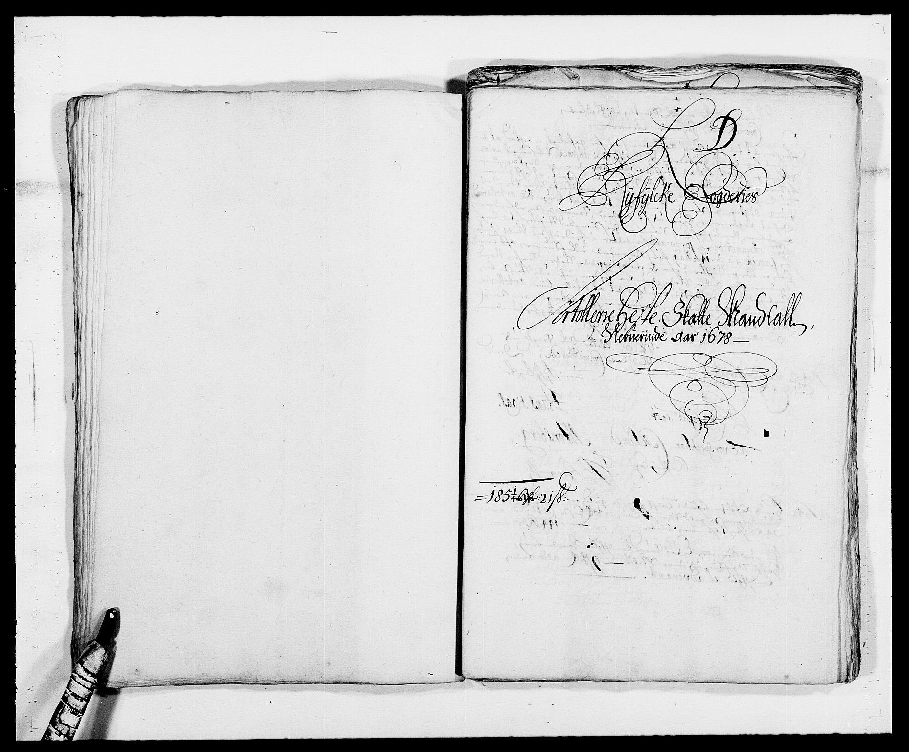 RA, Rentekammeret inntil 1814, Reviderte regnskaper, Fogderegnskap, R47/L2848: Fogderegnskap Ryfylke, 1678, s. 175