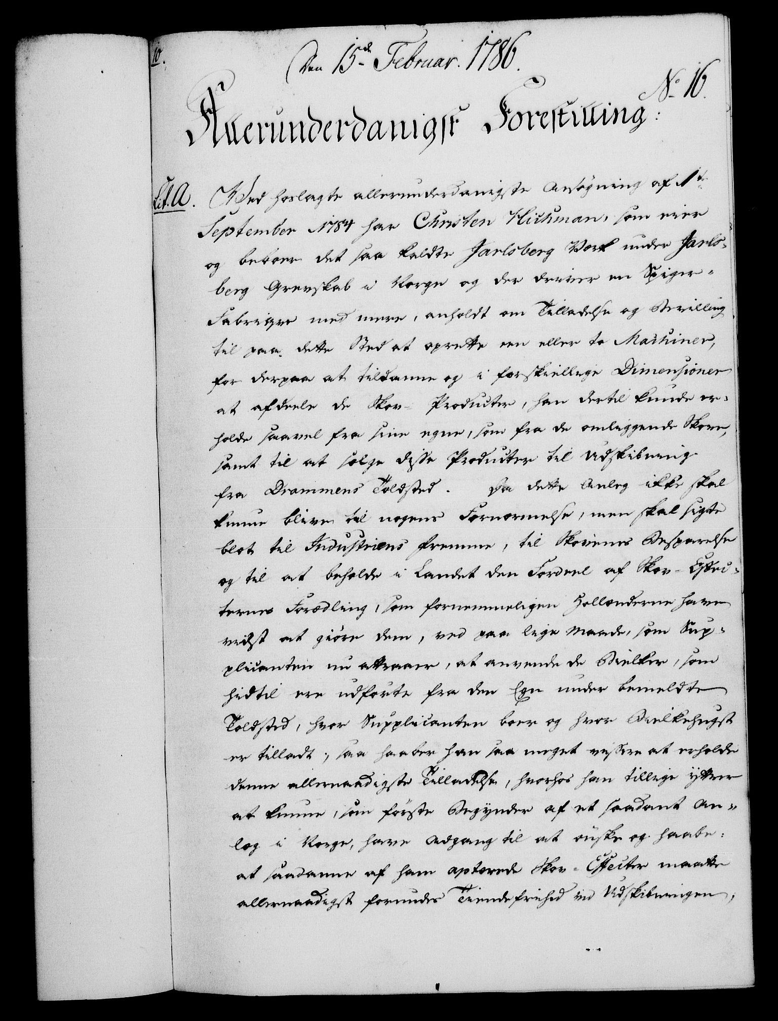 RA, Rentekammeret, Kammerkanselliet, G/Gf/Gfa/L0068: Norsk relasjons- og resolusjonsprotokoll (merket RK 52.68), 1786, s. 117