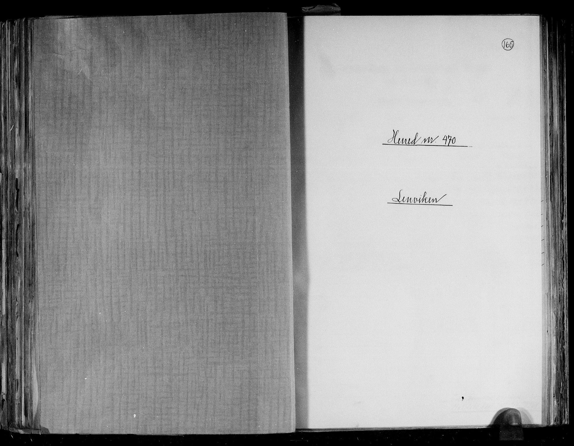 RA, Folketelling 1891 for 1931 Lenvik herred, 1891, s. 1