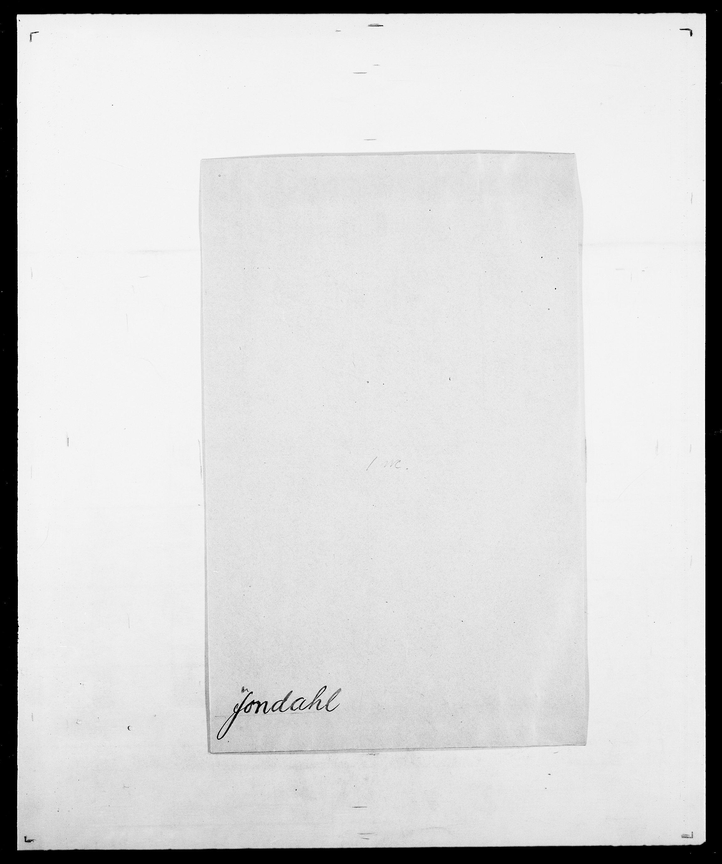 SAO, Delgobe, Charles Antoine - samling, D/Da/L0019: van der Hude - Joys, s. 883