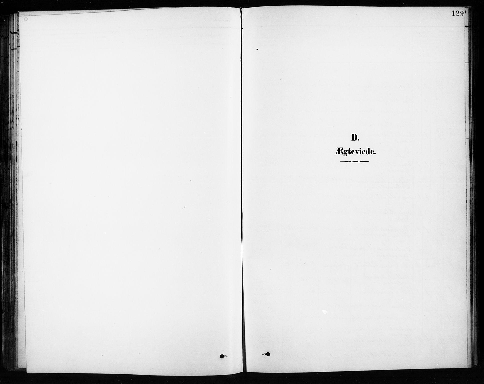 SAH, Vardal prestekontor, H/Ha/Hab/L0010: Klokkerbok nr. 10, 1895-1903, s. 129