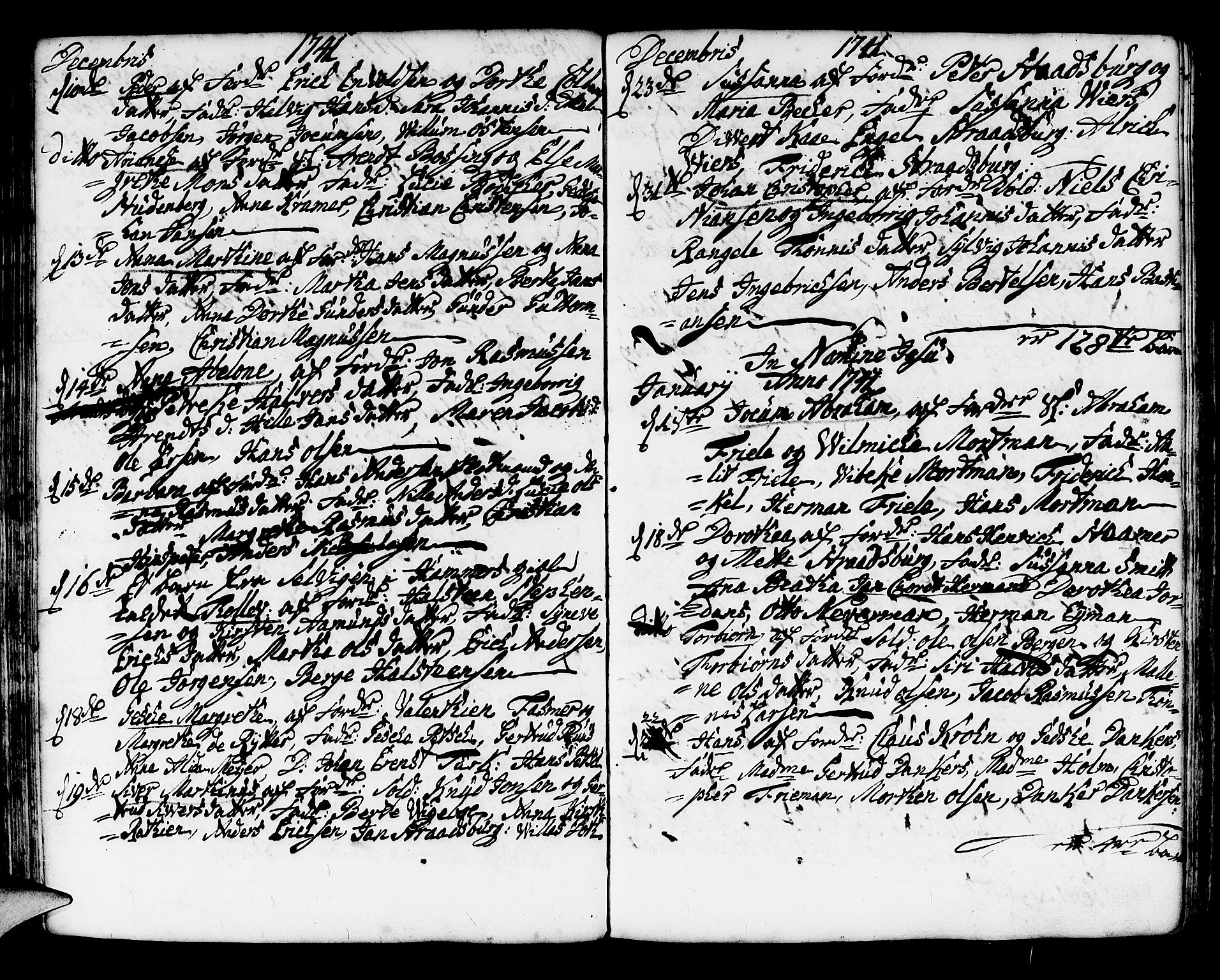 SAB, Korskirken Sokneprestembete, H/Haa/L0004: Ministerialbok nr. A 4, 1720-1750, s. 229