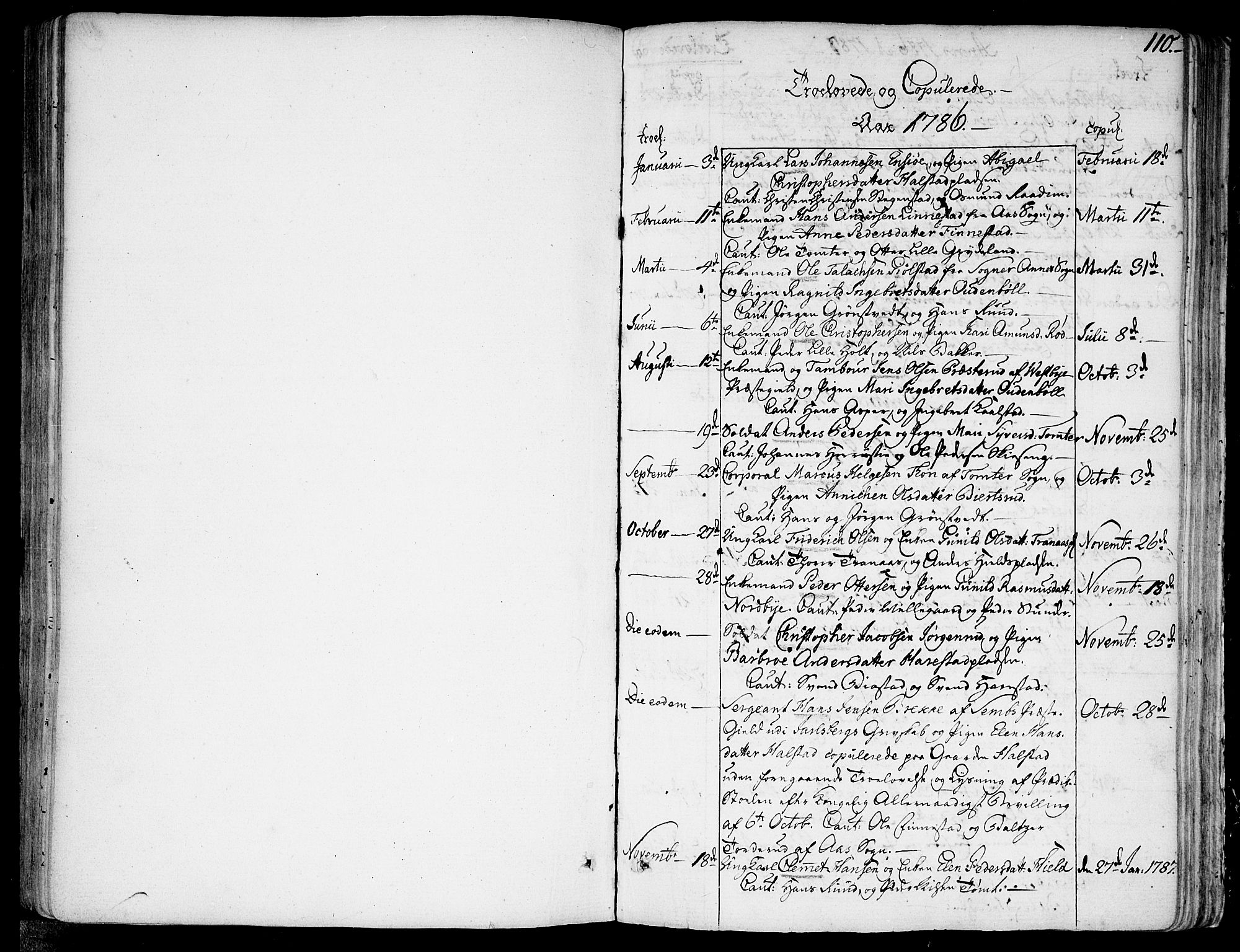 SAO, Kråkstad prestekontor Kirkebøker, F/Fa/L0002: Ministerialbok nr. I 2, 1786-1814, s. 110