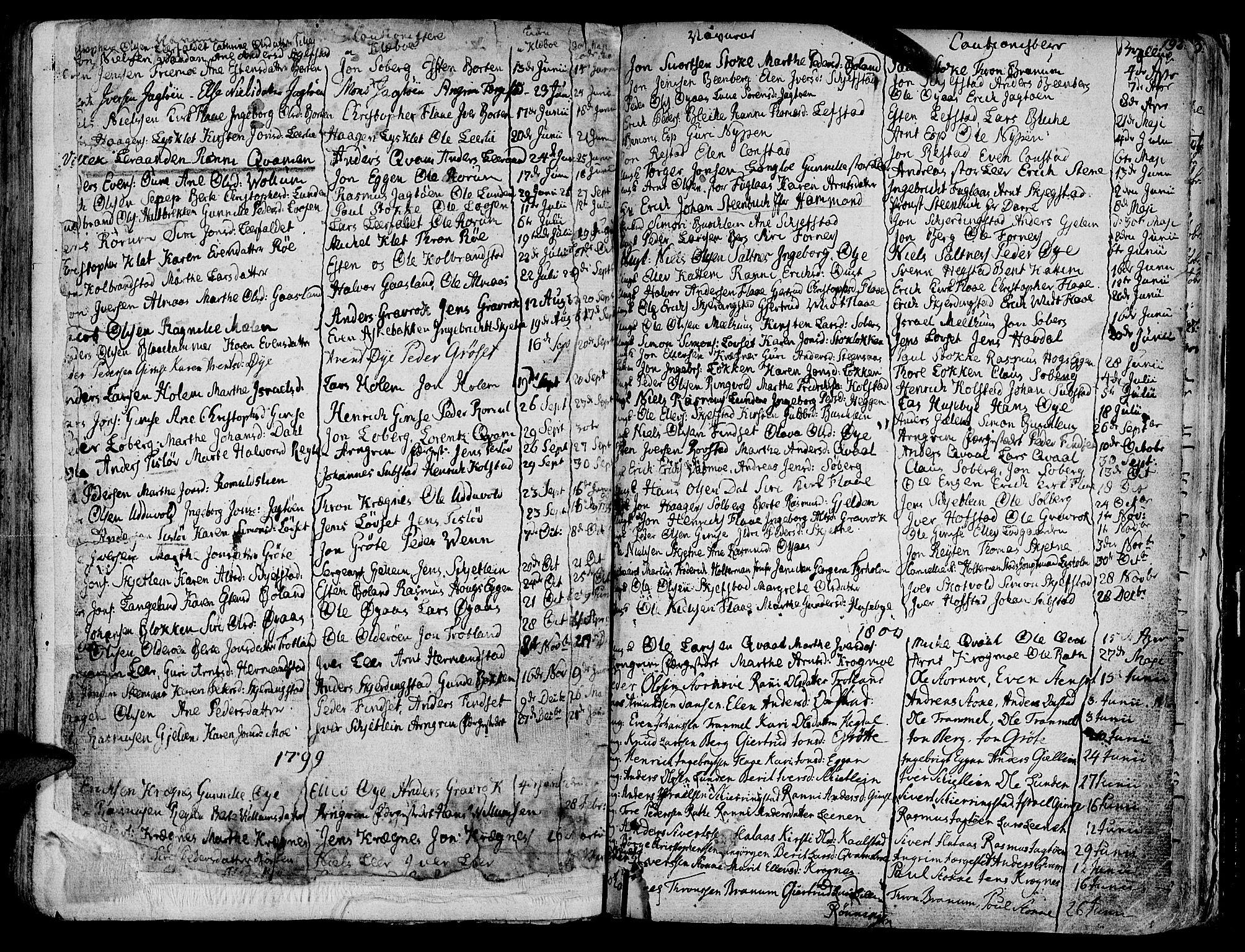 SAT, Ministerialprotokoller, klokkerbøker og fødselsregistre - Sør-Trøndelag, 691/L1061: Ministerialbok nr. 691A02 /1, 1768-1815, s. 192
