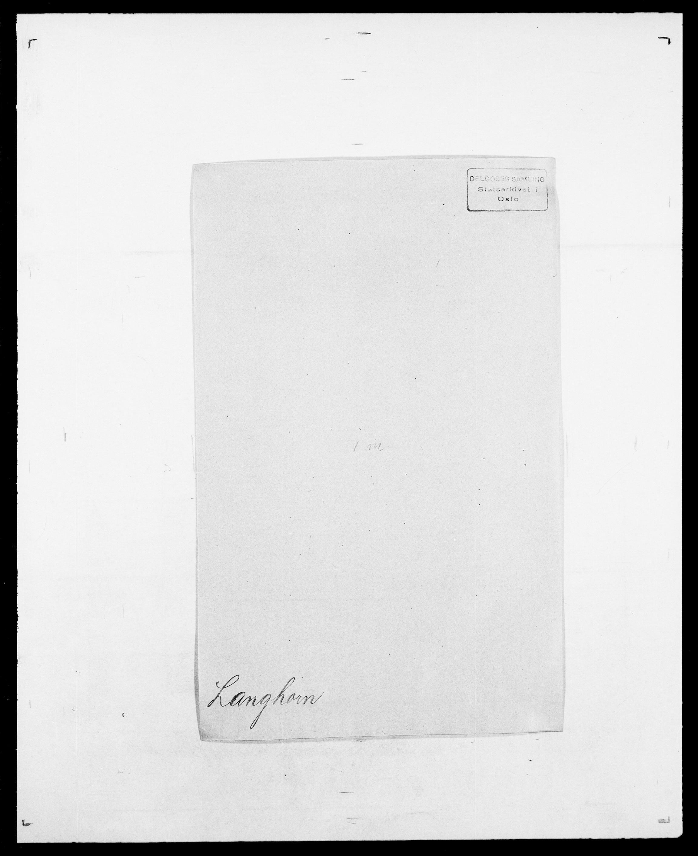 SAO, Delgobe, Charles Antoine - samling, D/Da/L0022: Krog - Lasteen, s. 702