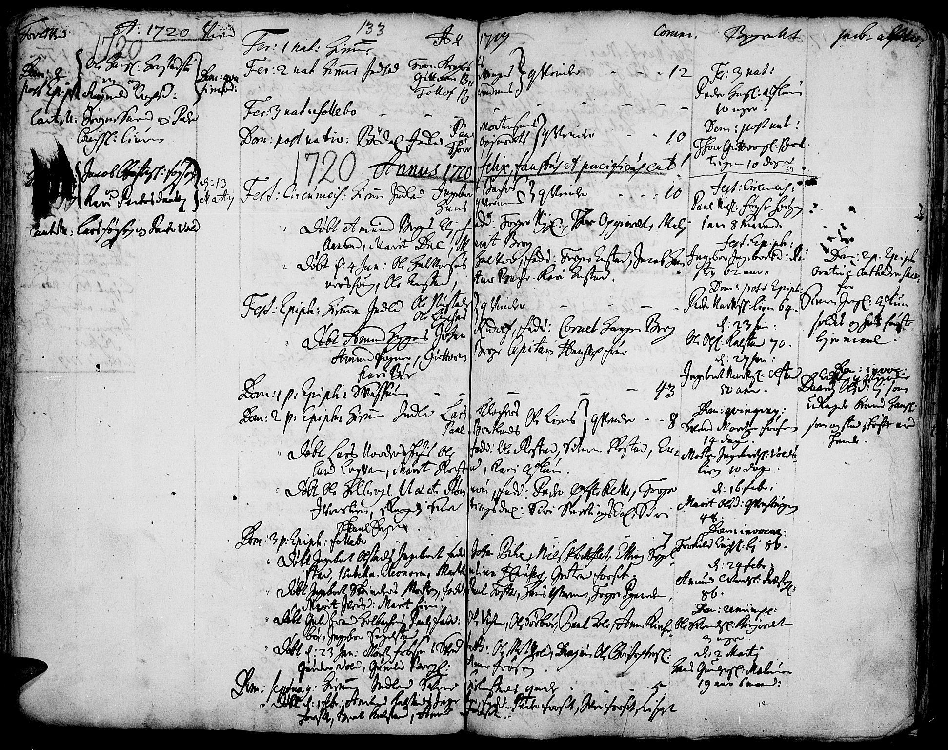 SAH, Gausdal prestekontor, Ministerialbok nr. 1, 1693-1728, s. 133
