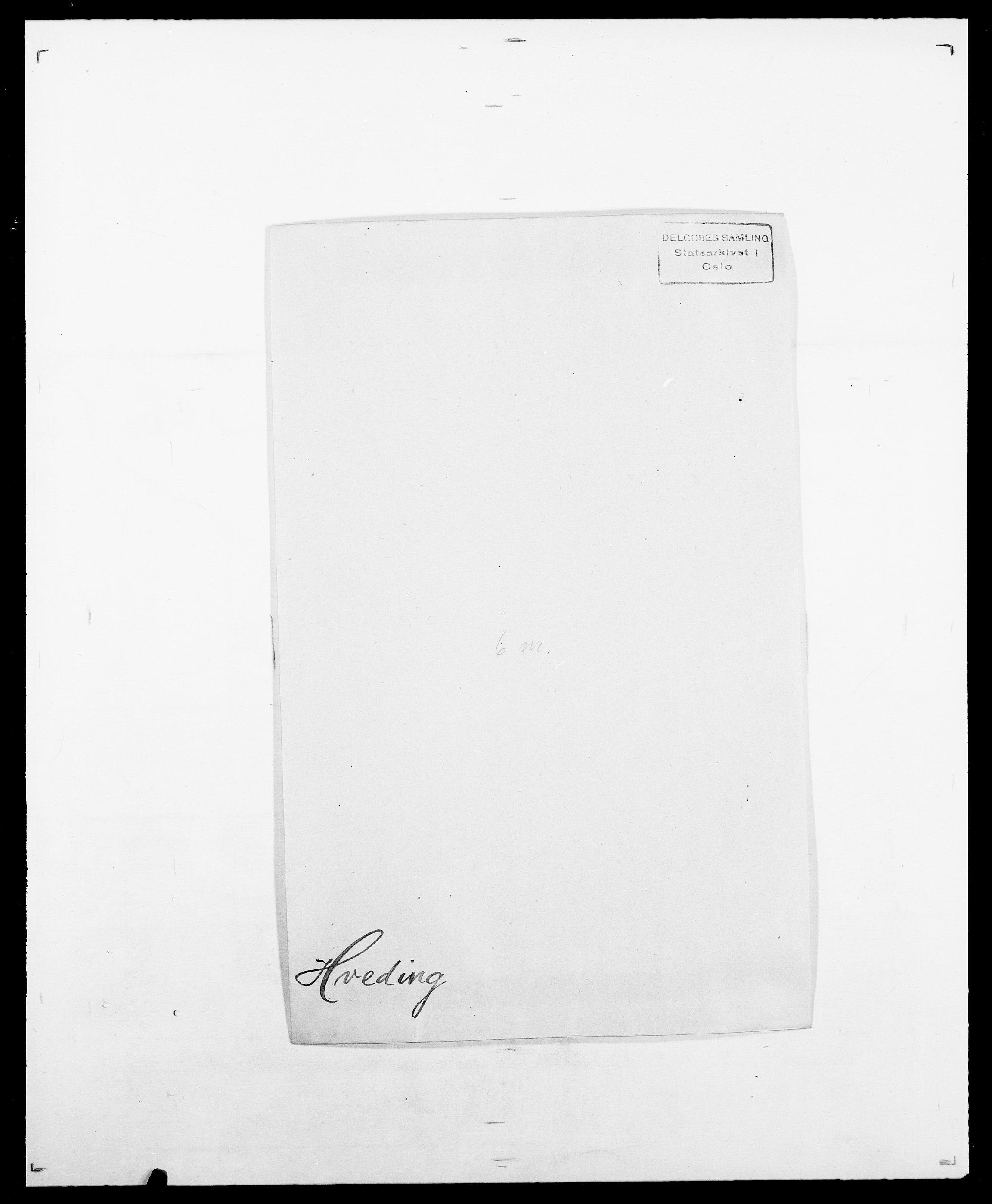 SAO, Delgobe, Charles Antoine - samling, D/Da/L0019: van der Hude - Joys, s. 135