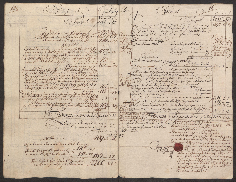 RA, Rentekammeret inntil 1814, Reviderte regnskaper, Fogderegnskap, R64/L4424: Fogderegnskap Namdal, 1692-1695, s. 340