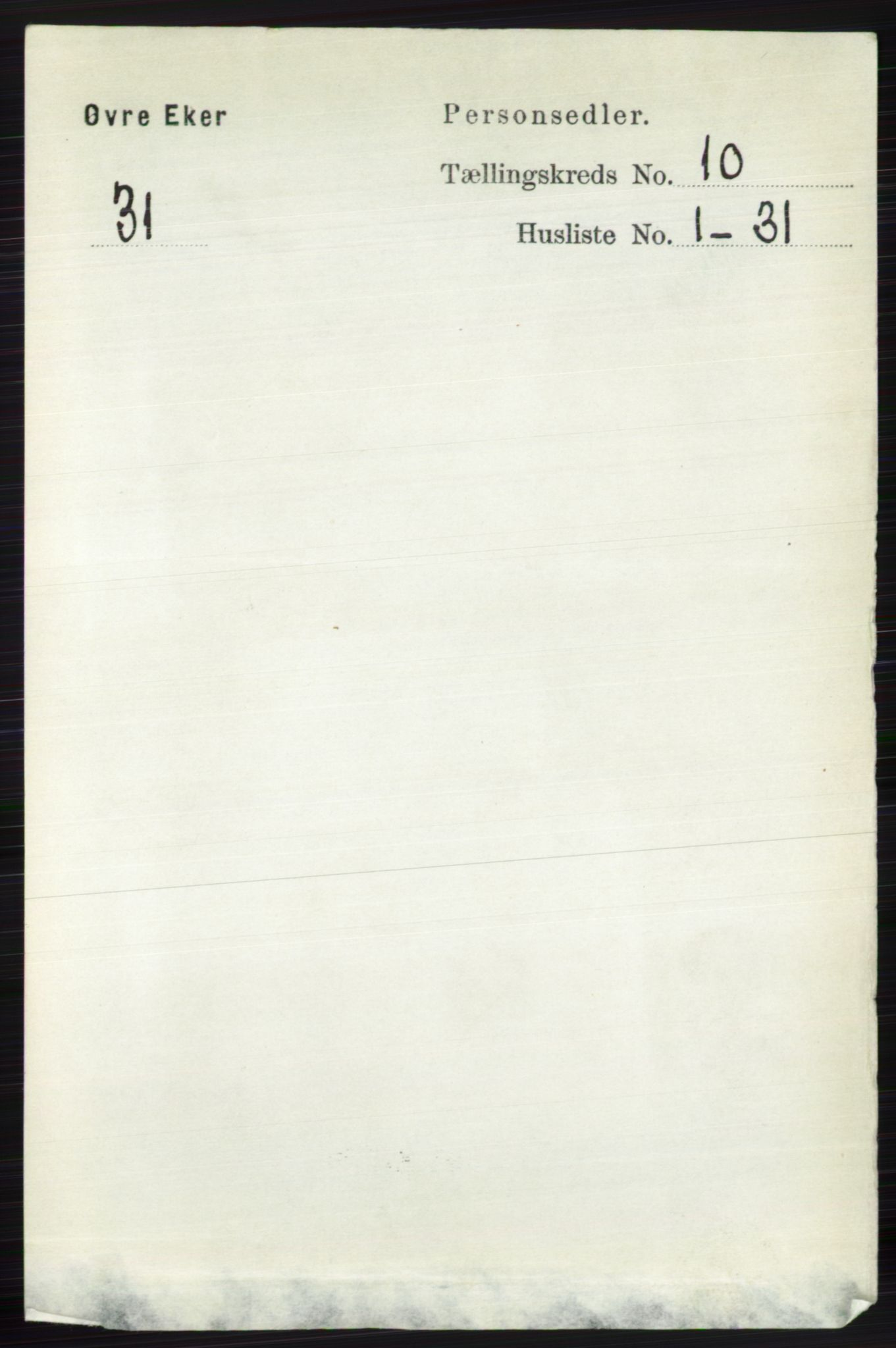 RA, Folketelling 1891 for 0624 Øvre Eiker herred, 1891, s. 4065