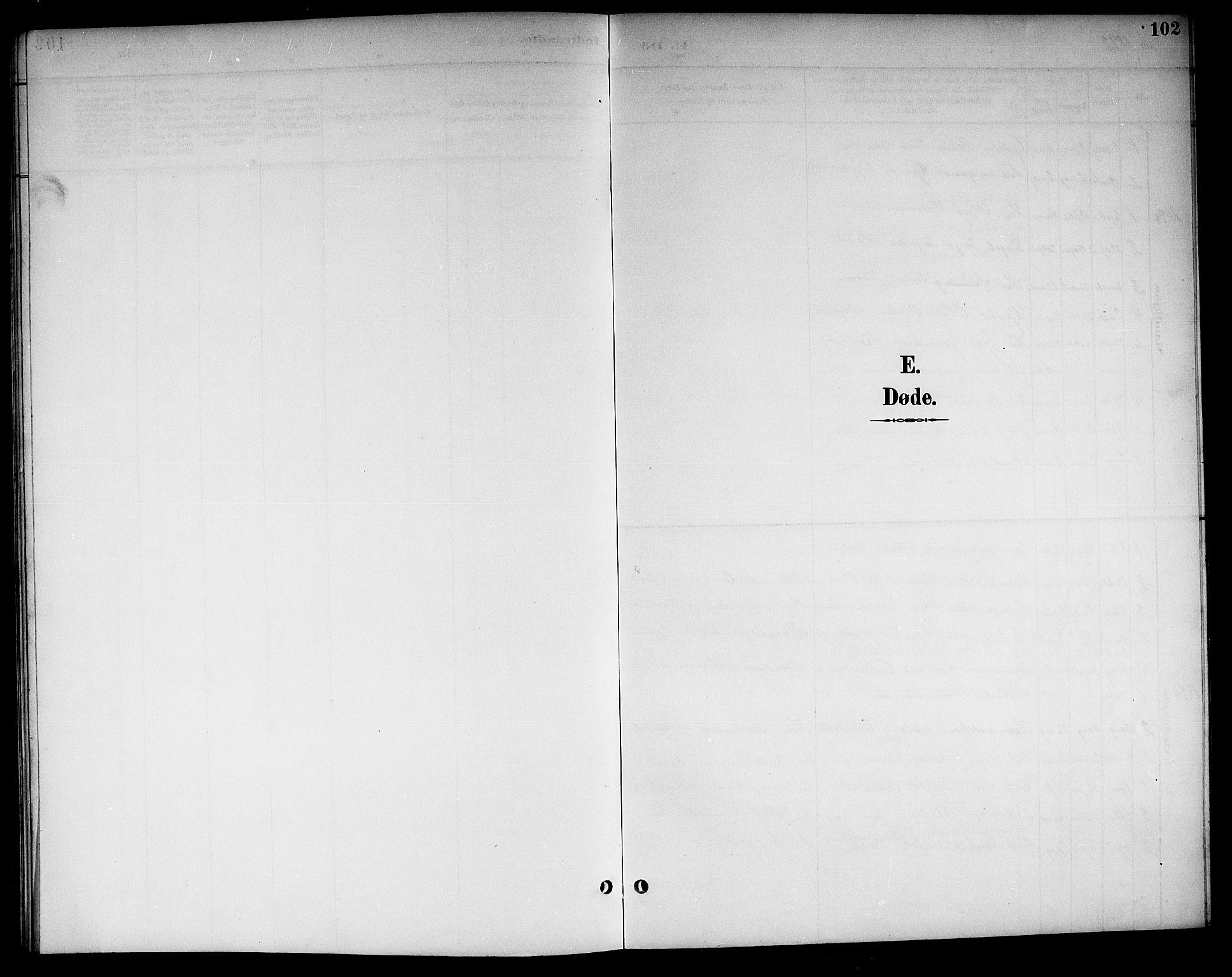 SAKO, Kviteseid kirkebøker, G/Gc/L0001: Klokkerbok nr. III 1, 1893-1916, s. 102