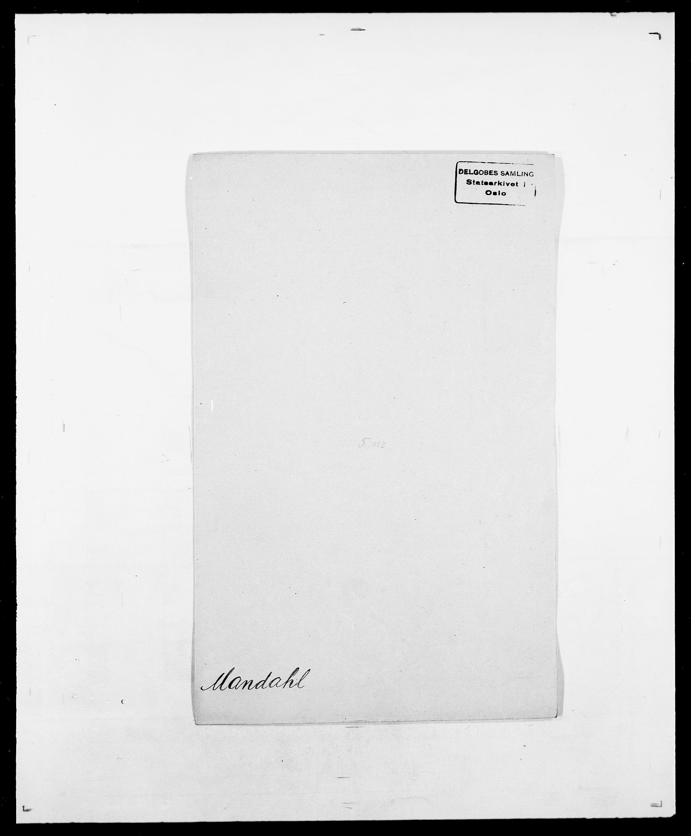 SAO, Delgobe, Charles Antoine - samling, D/Da/L0025: Løberg - Mazar, s. 288