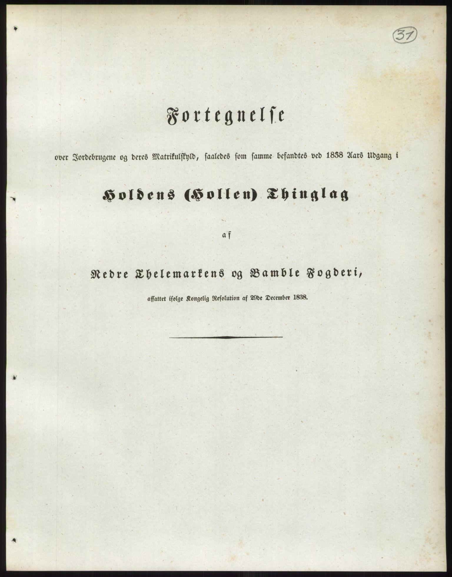 RA, 1838-matrikkelen (publikasjon)*, 1838, s. 31