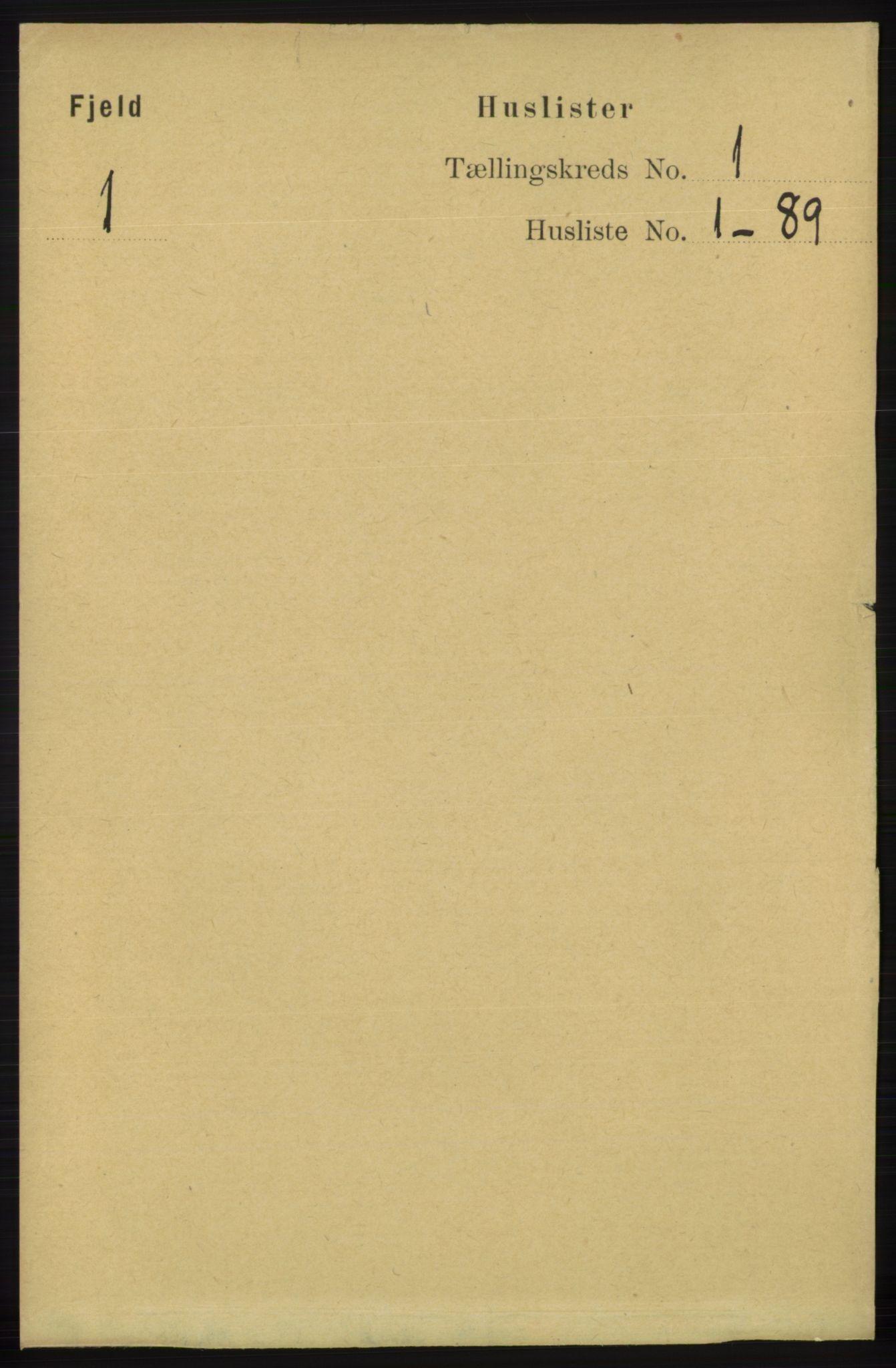 RA, Folketelling 1891 for 1246 Fjell herred, 1891, s. 22