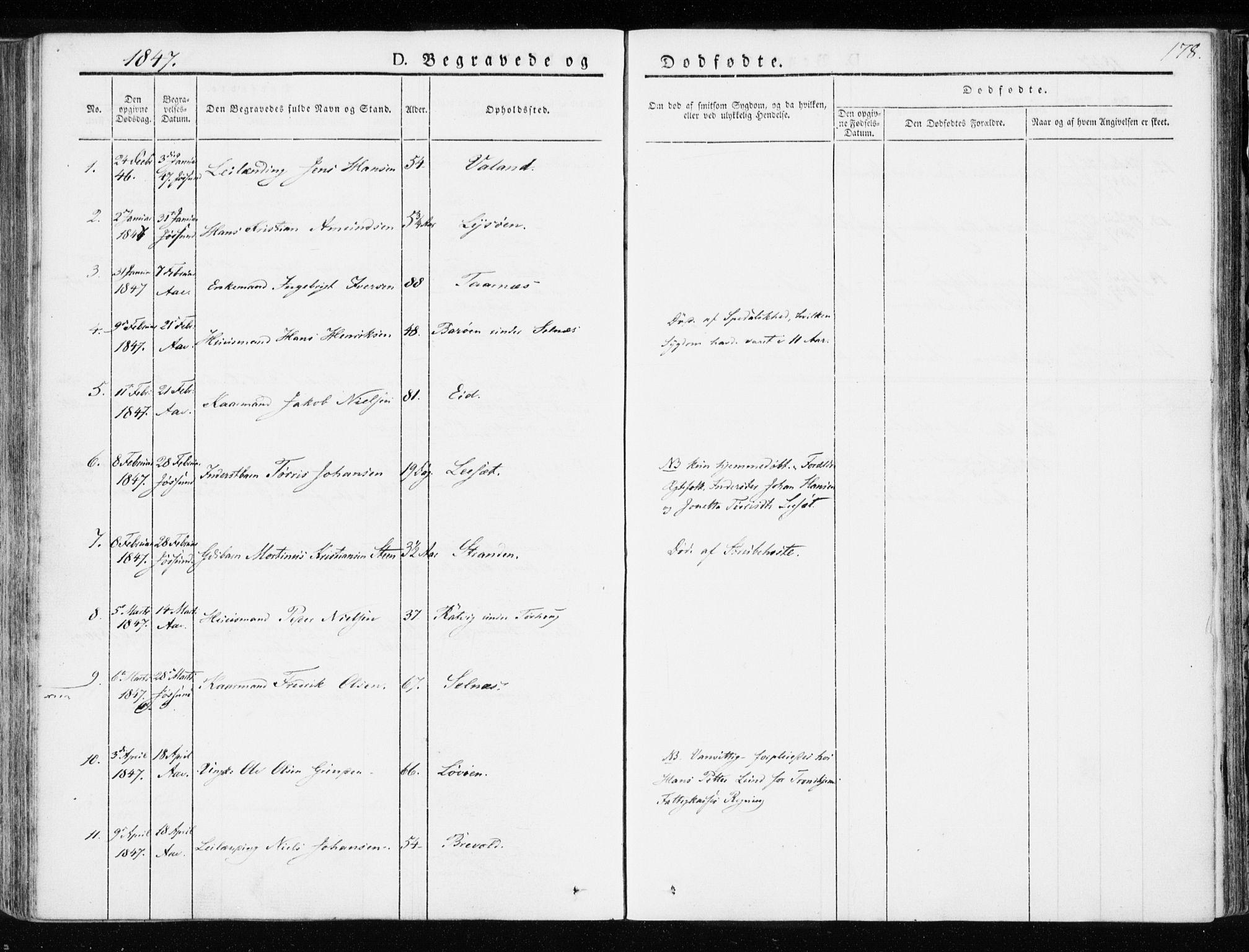SAT, Ministerialprotokoller, klokkerbøker og fødselsregistre - Sør-Trøndelag, 655/L0676: Ministerialbok nr. 655A05, 1830-1847, s. 178