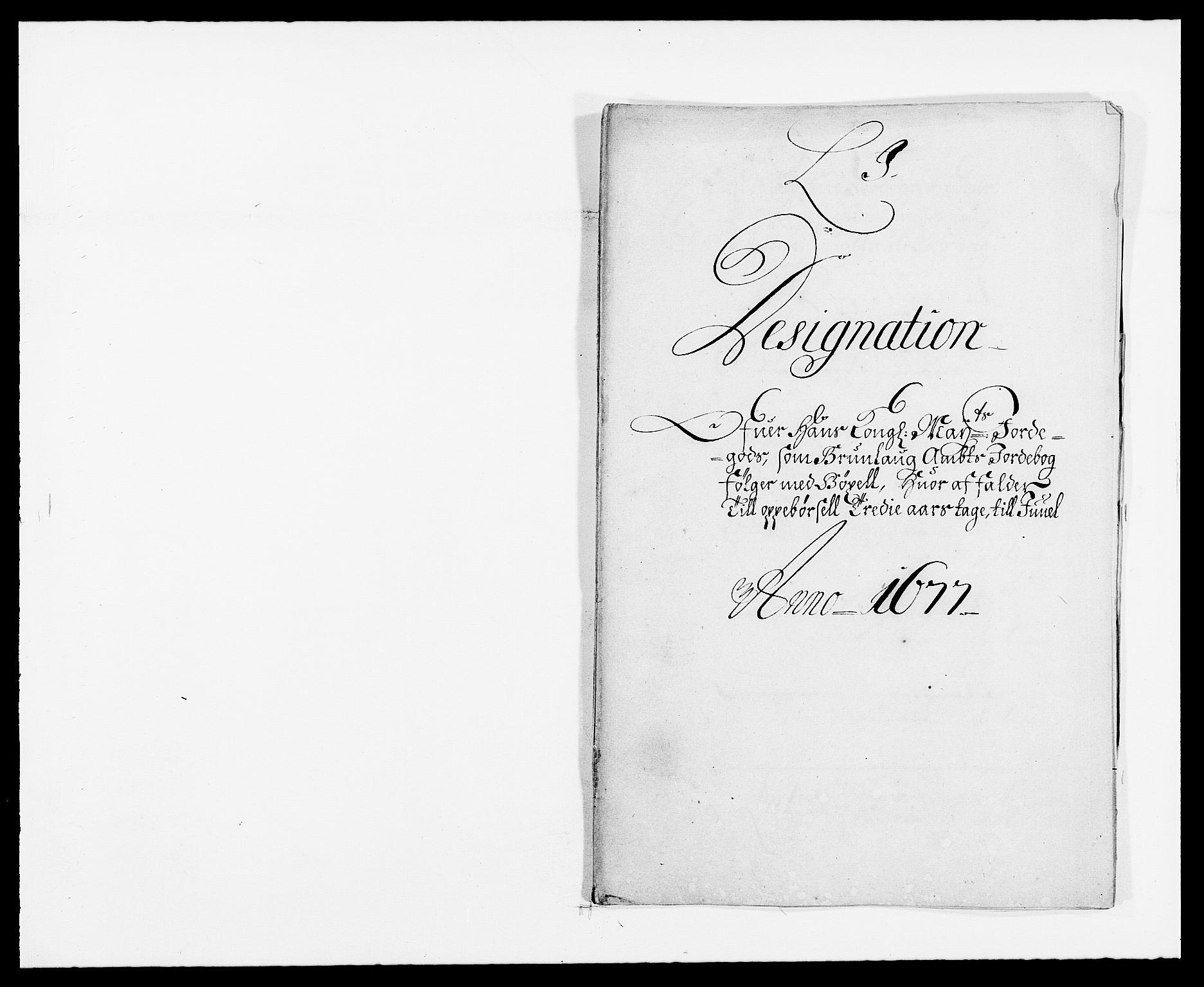 RA, Rentekammeret inntil 1814, Reviderte regnskaper, Fogderegnskap, R33/L1968: Fogderegnskap Larvik grevskap, 1675-1687, s. 8