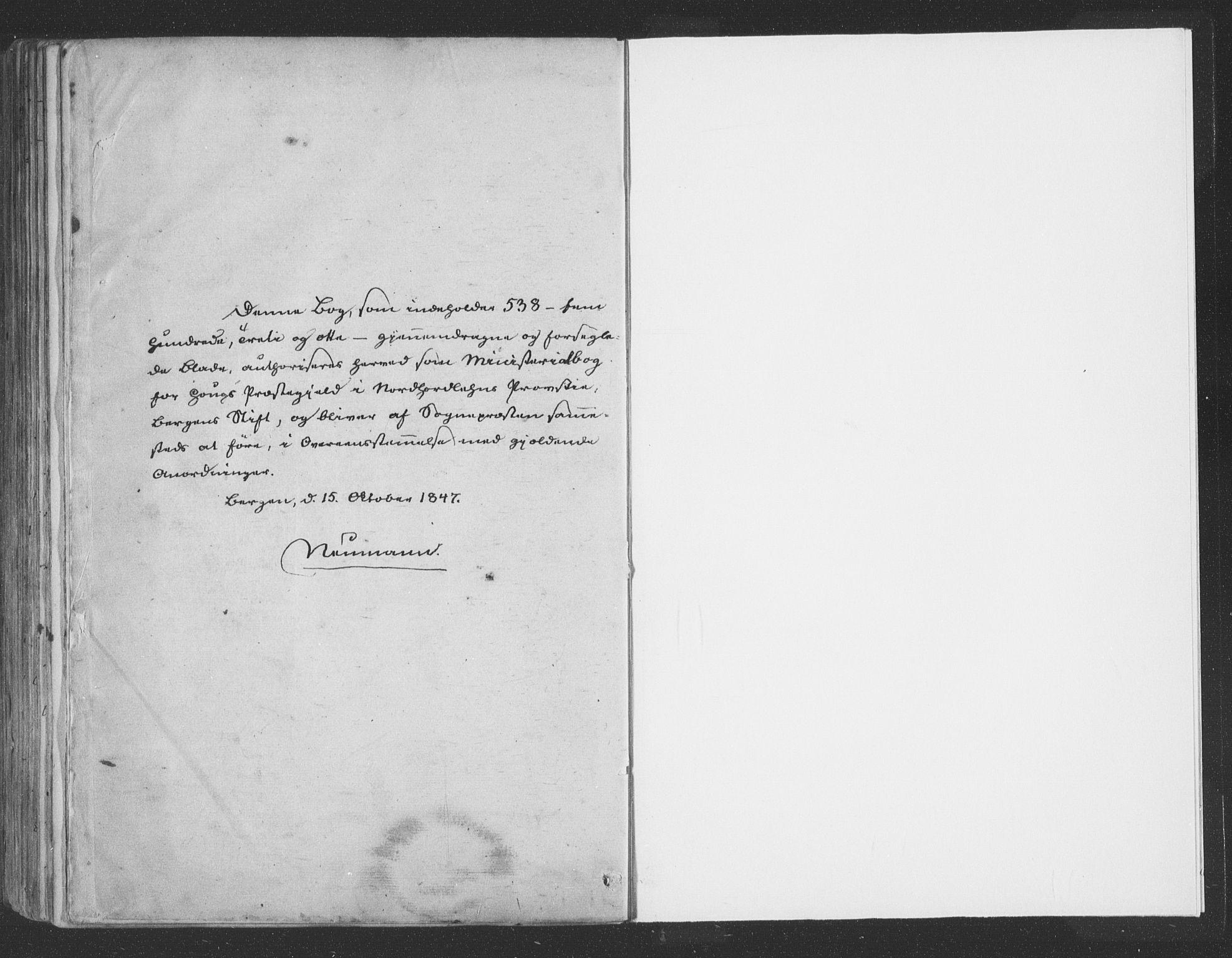 SAB, Haus Sokneprestembete, H/Haa: Ministerialbok nr. A 16 II, 1848-1857