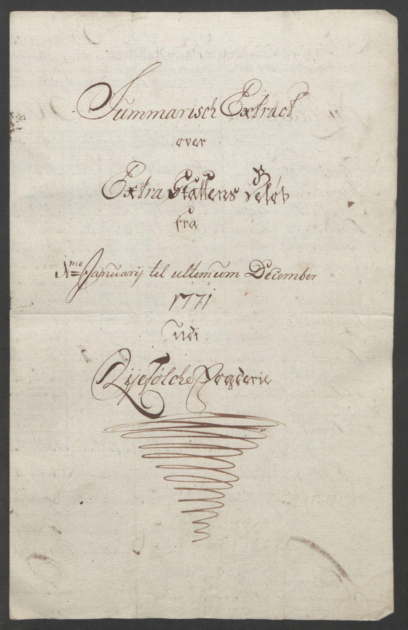 RA, Rentekammeret inntil 1814, Reviderte regnskaper, Fogderegnskap, R47/L2972: Ekstraskatten Ryfylke, 1762-1780, s. 271